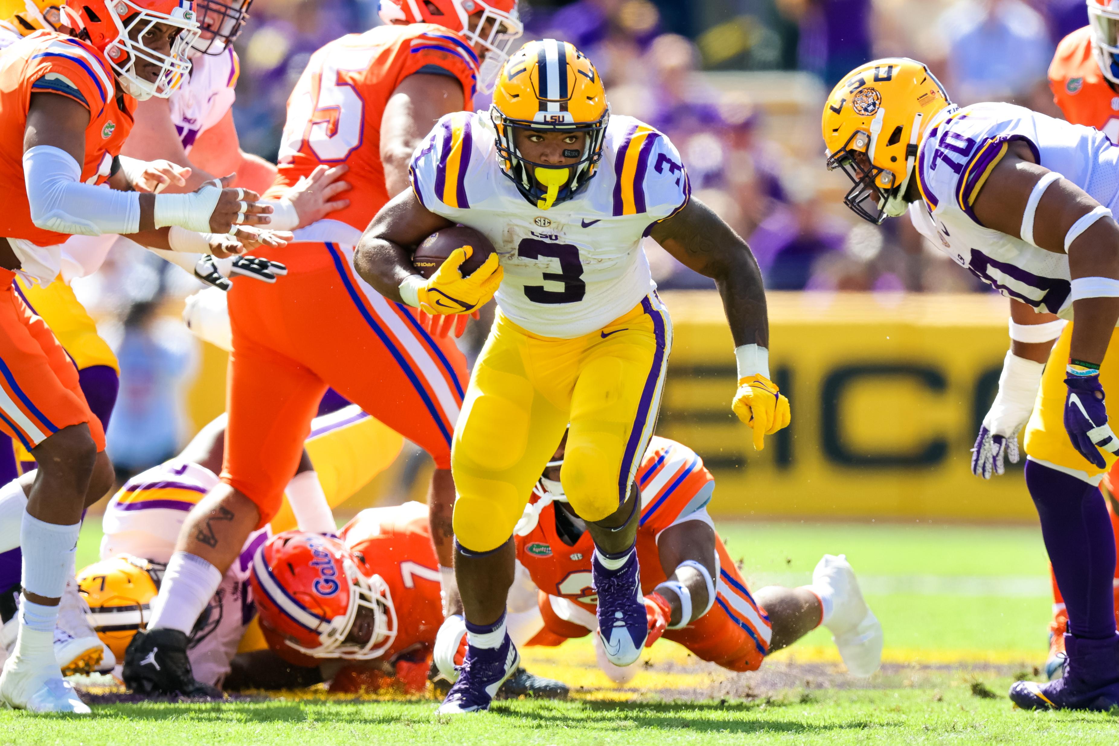 NCAA Football: Florida at Louisiana State