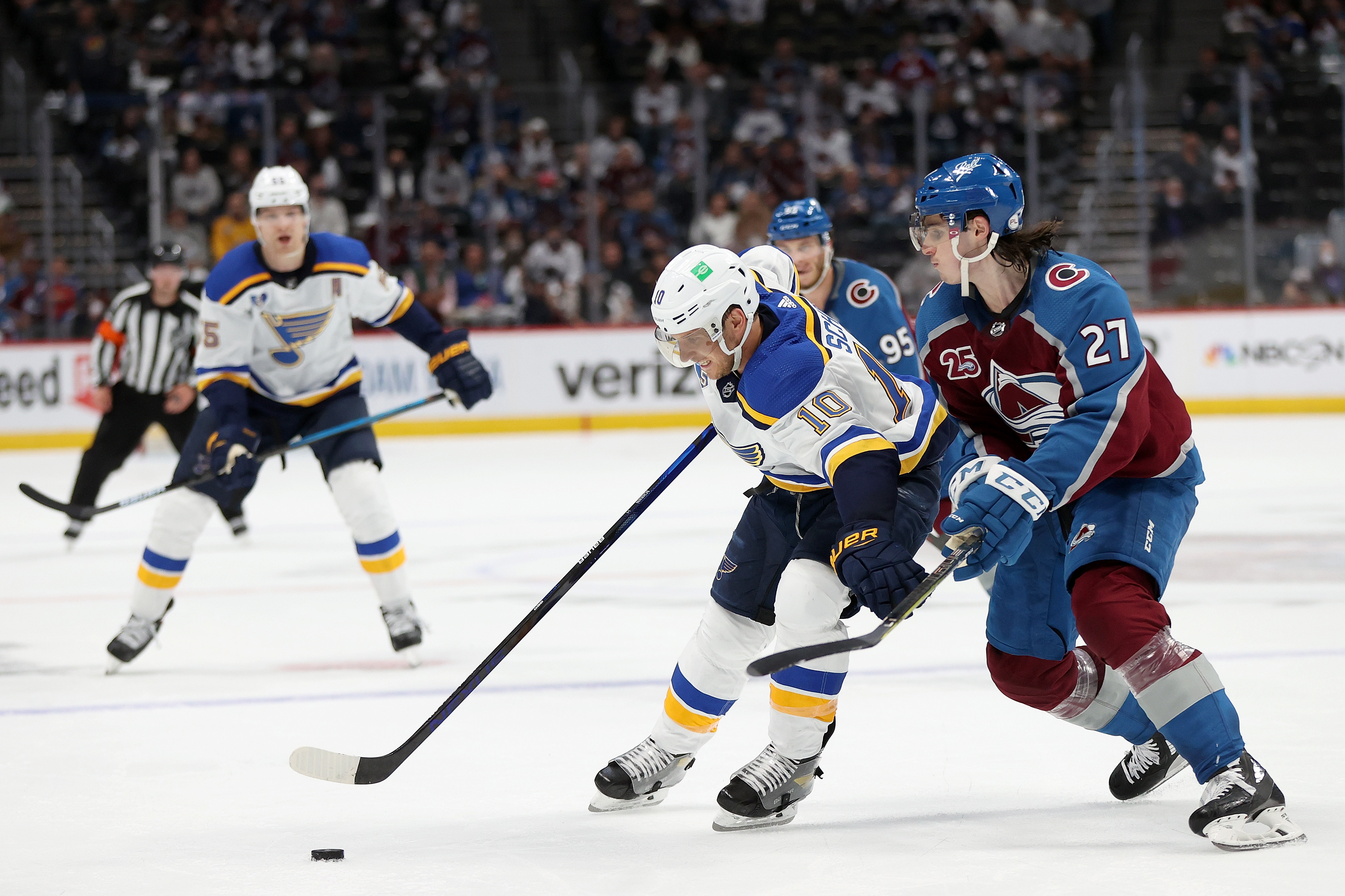 St Louis Blues v Colorado Avalanche - Game Two