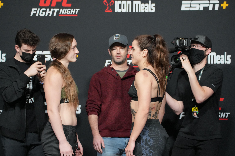 MMA: OCT 15 UFC Vegas 40 Official Weigh-In