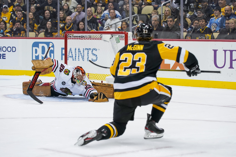 NHL: OCT 16 Blackhawks at Penguins