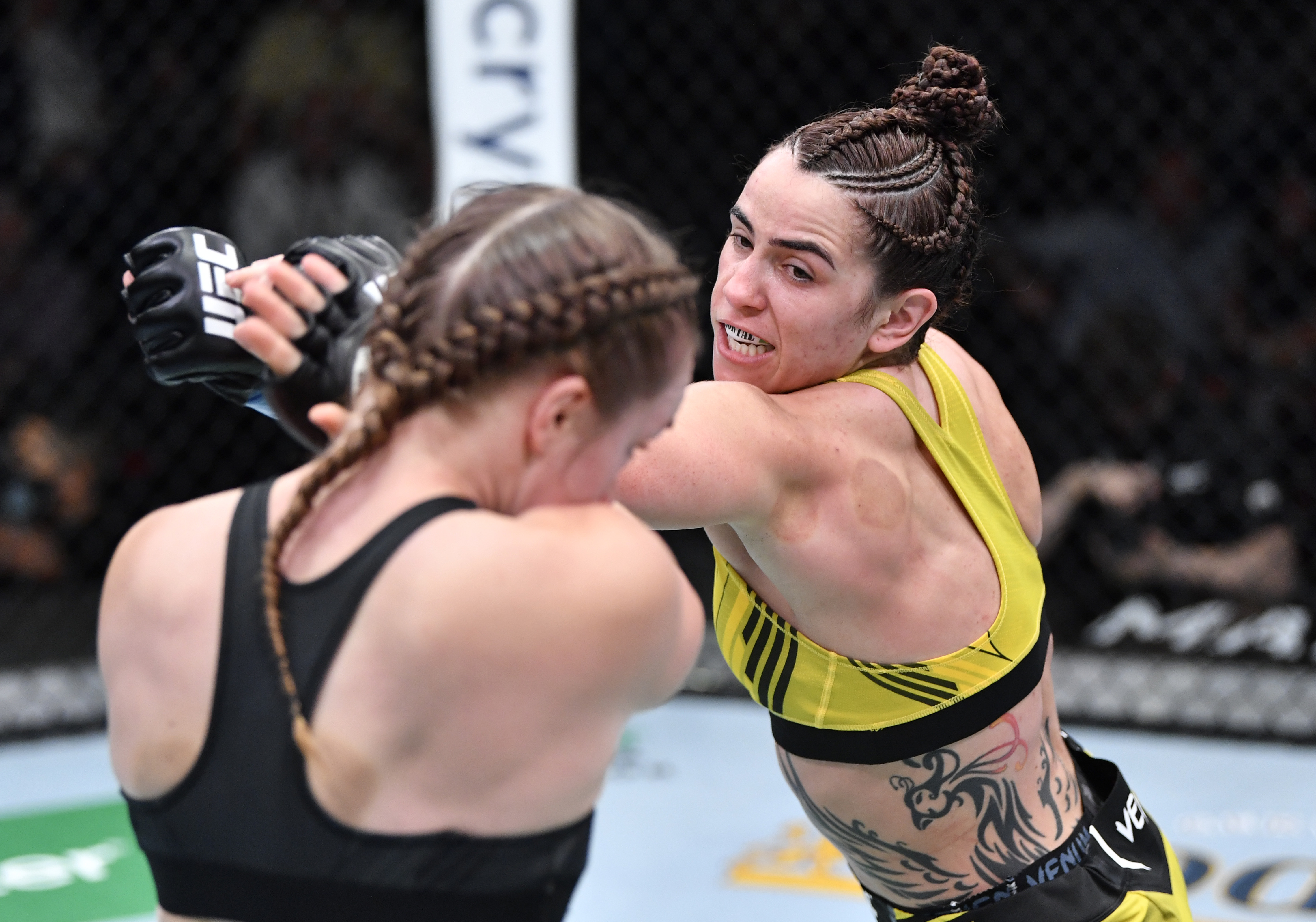 Norma Dumont defeated Aspen Ladd at UFC Vegas 40.