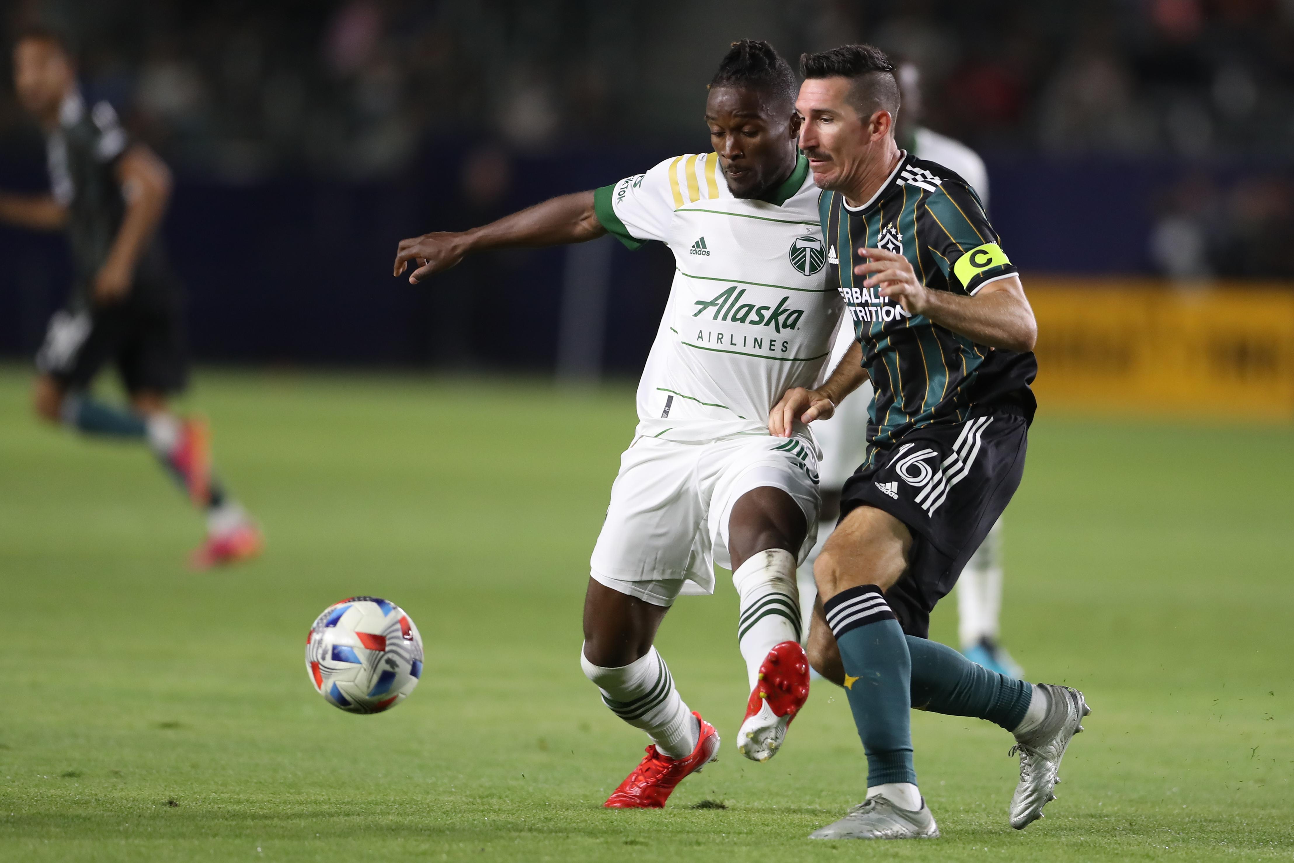 SOCCER: JUL 30 MLS - Portland Timbers at LA Galaxy
