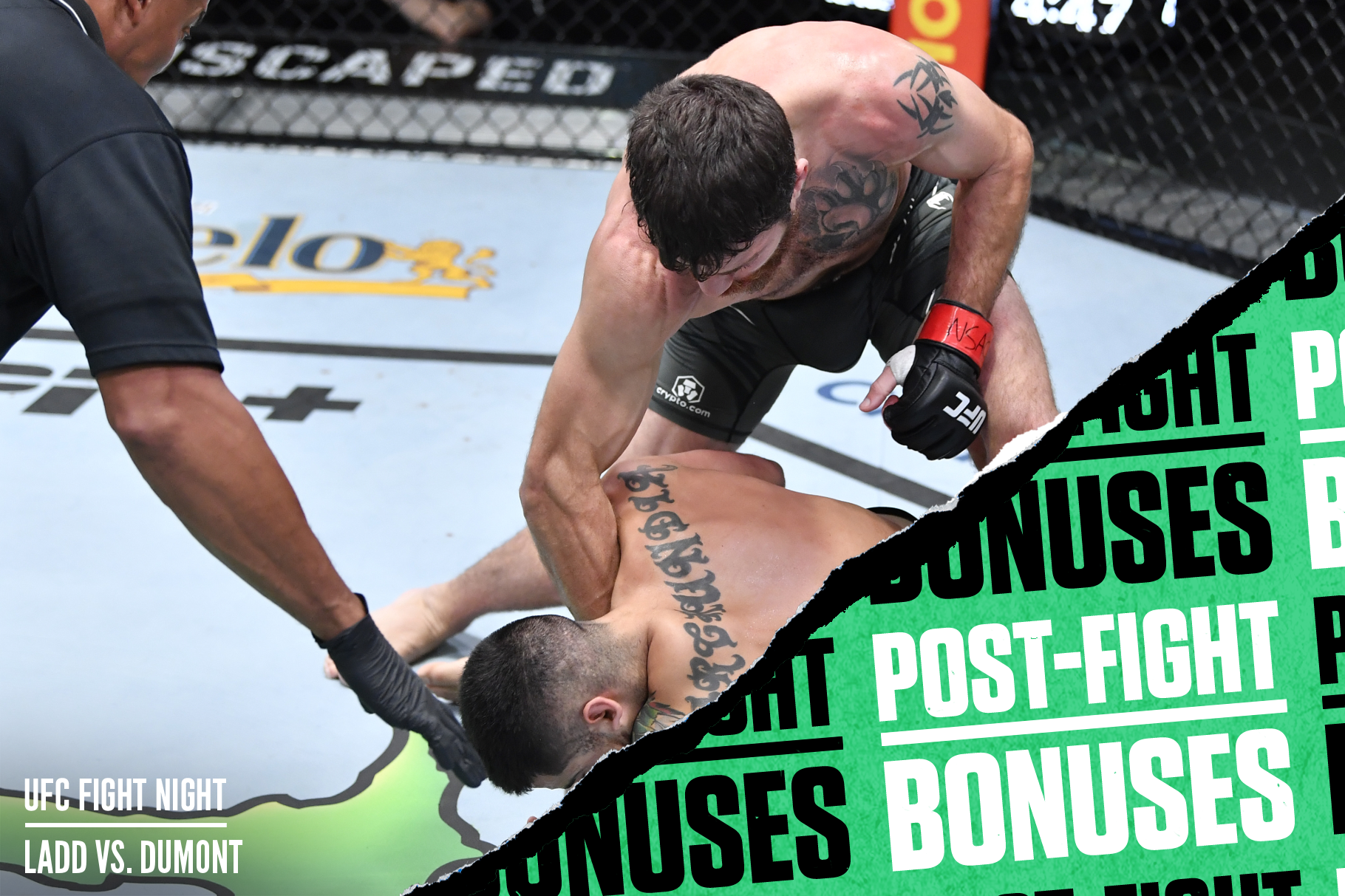 Jim Miller crumbled Erick Gonzalez with one punch at UFC Vegas 40 on Saturday night.
