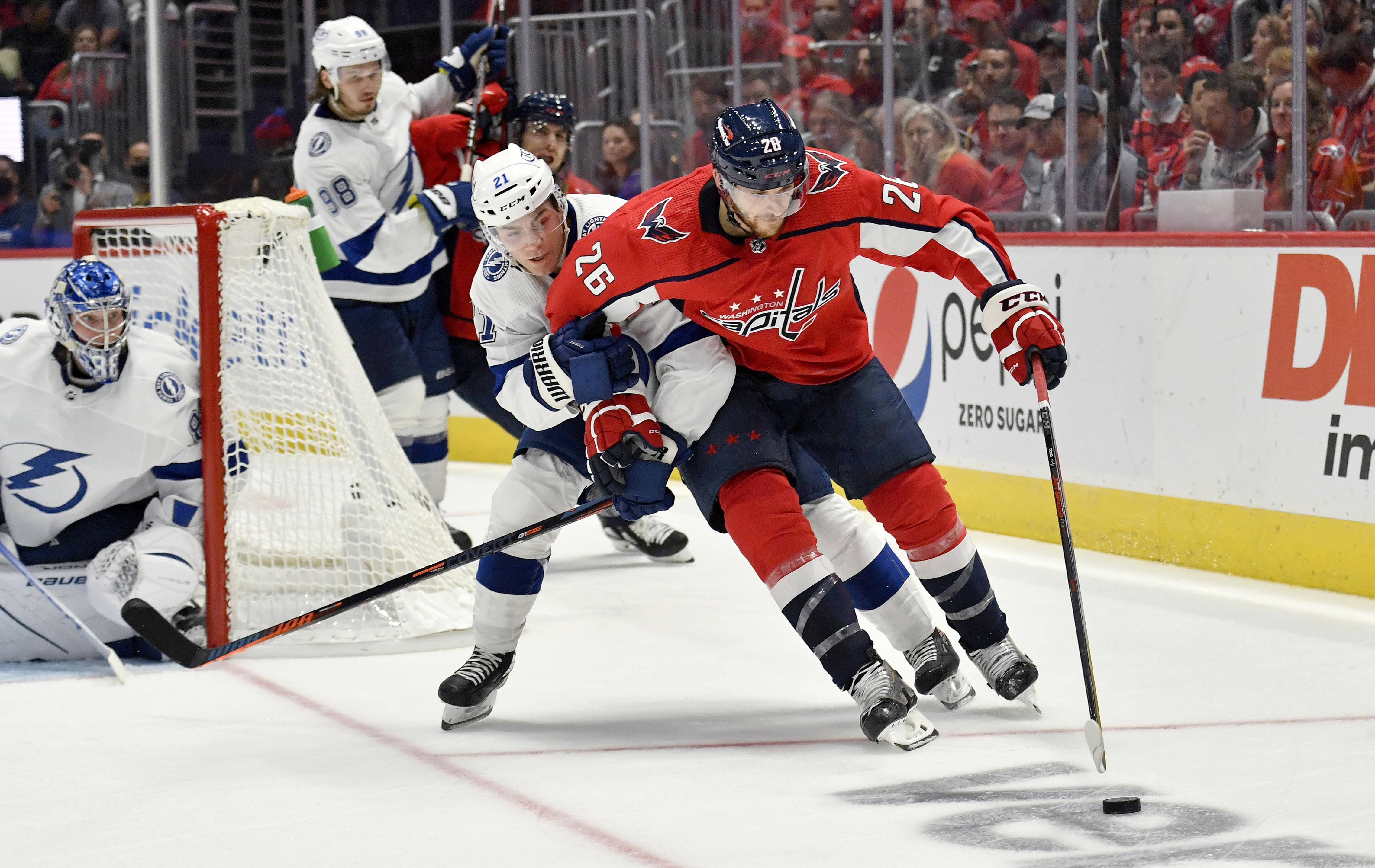NHL: OCT 16 Lightning at Capitals