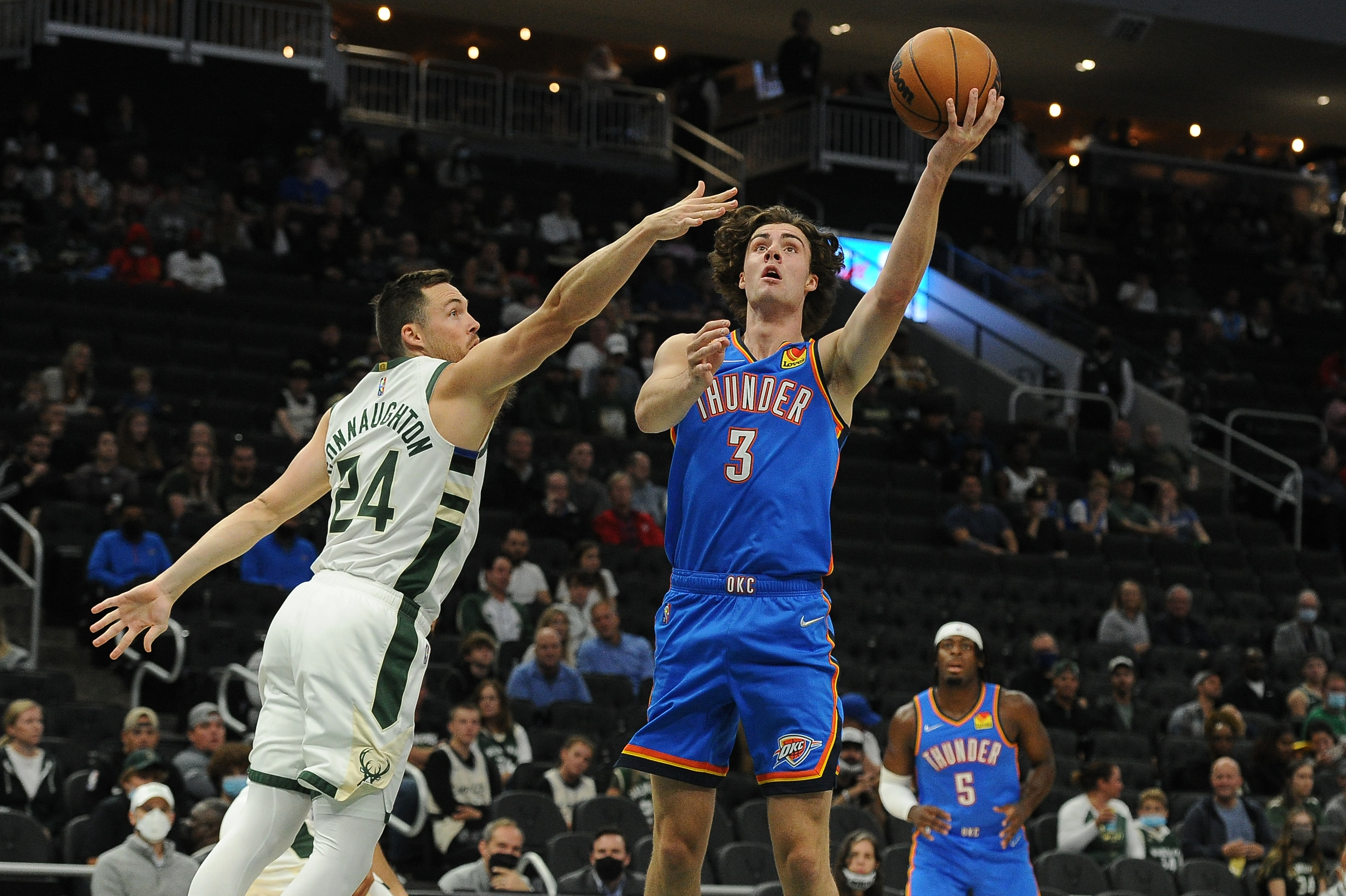 NBA: Preseason-Oklahoma City Thunder at Milwaukee Bucks