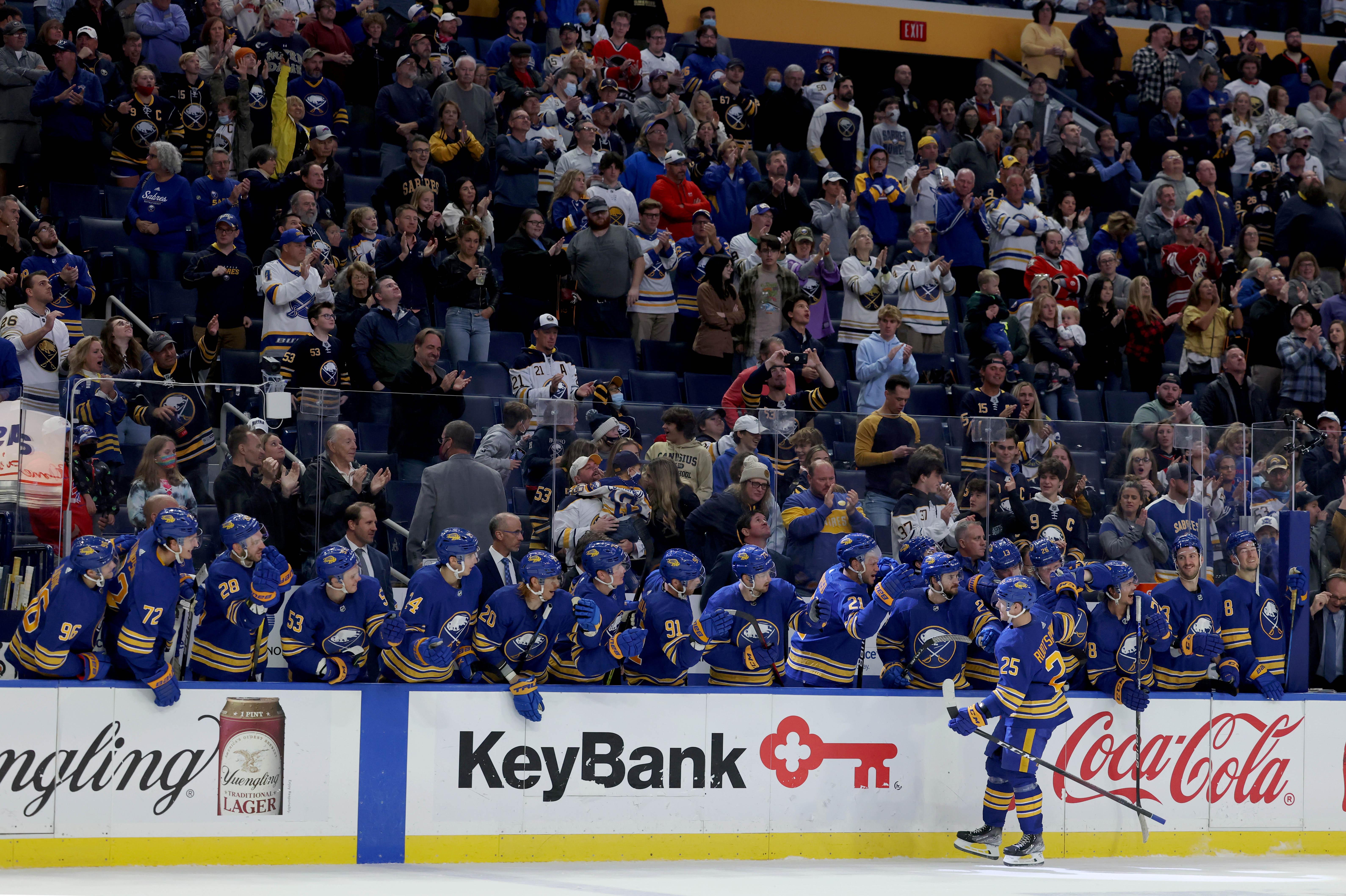NHL: Arizona Coyotes at Buffalo Sabres