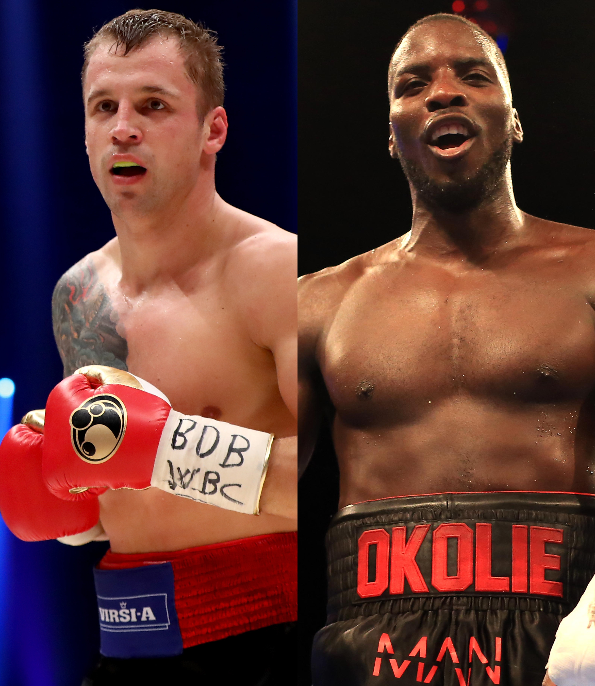 Mairis Briedis and Lawrence Okolie may be headed for unification