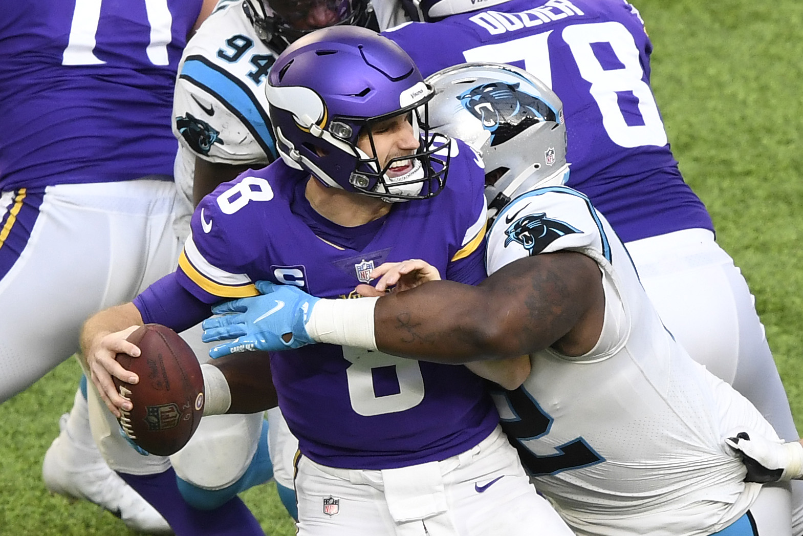 Carolina Panthers v Minnesota Vikings