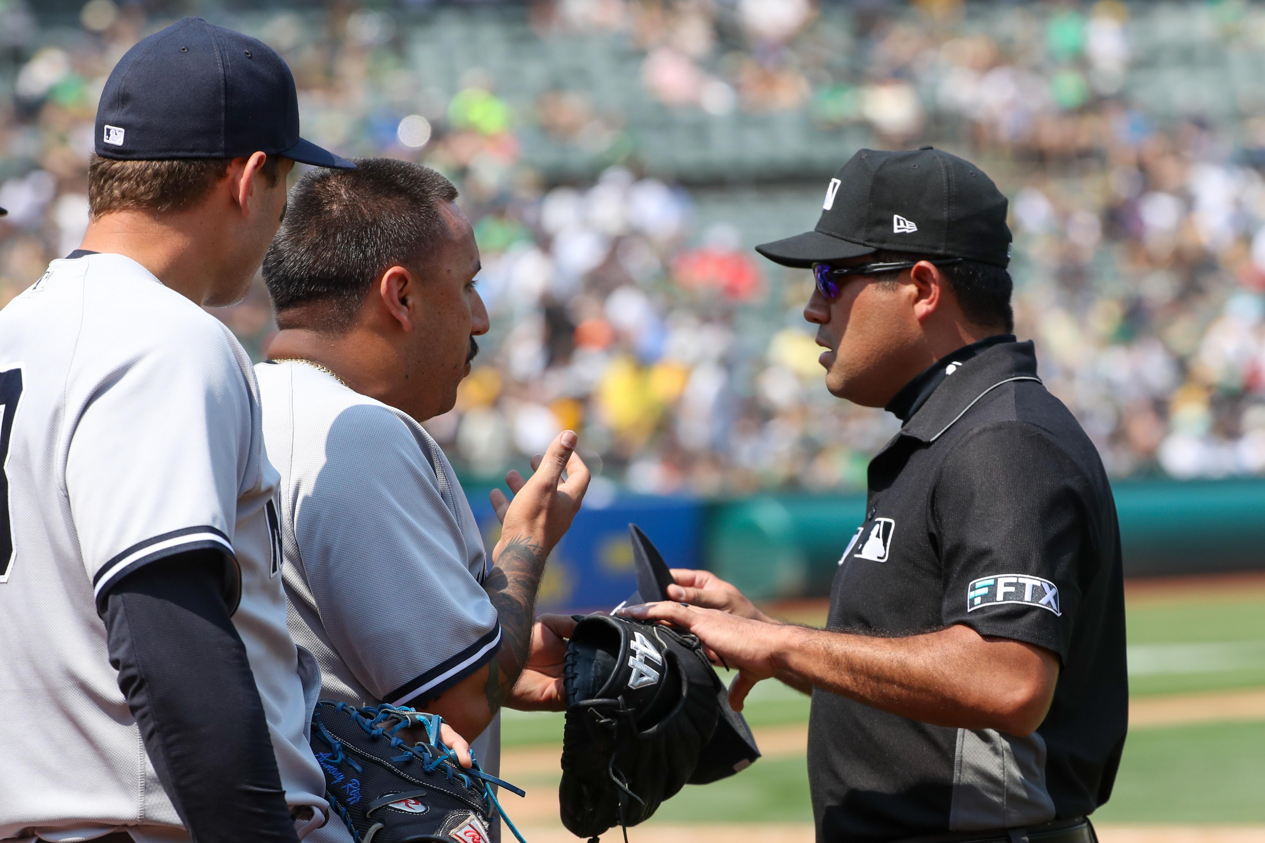 MLB: AUG 28 Yankees at Athletics