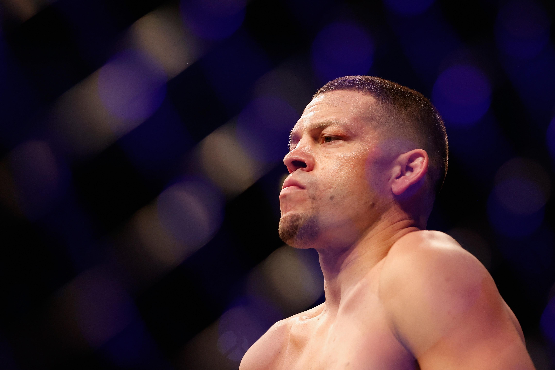 Nate Diaz at UFC 263: Israel Adesanya vs. Marvin Vettori