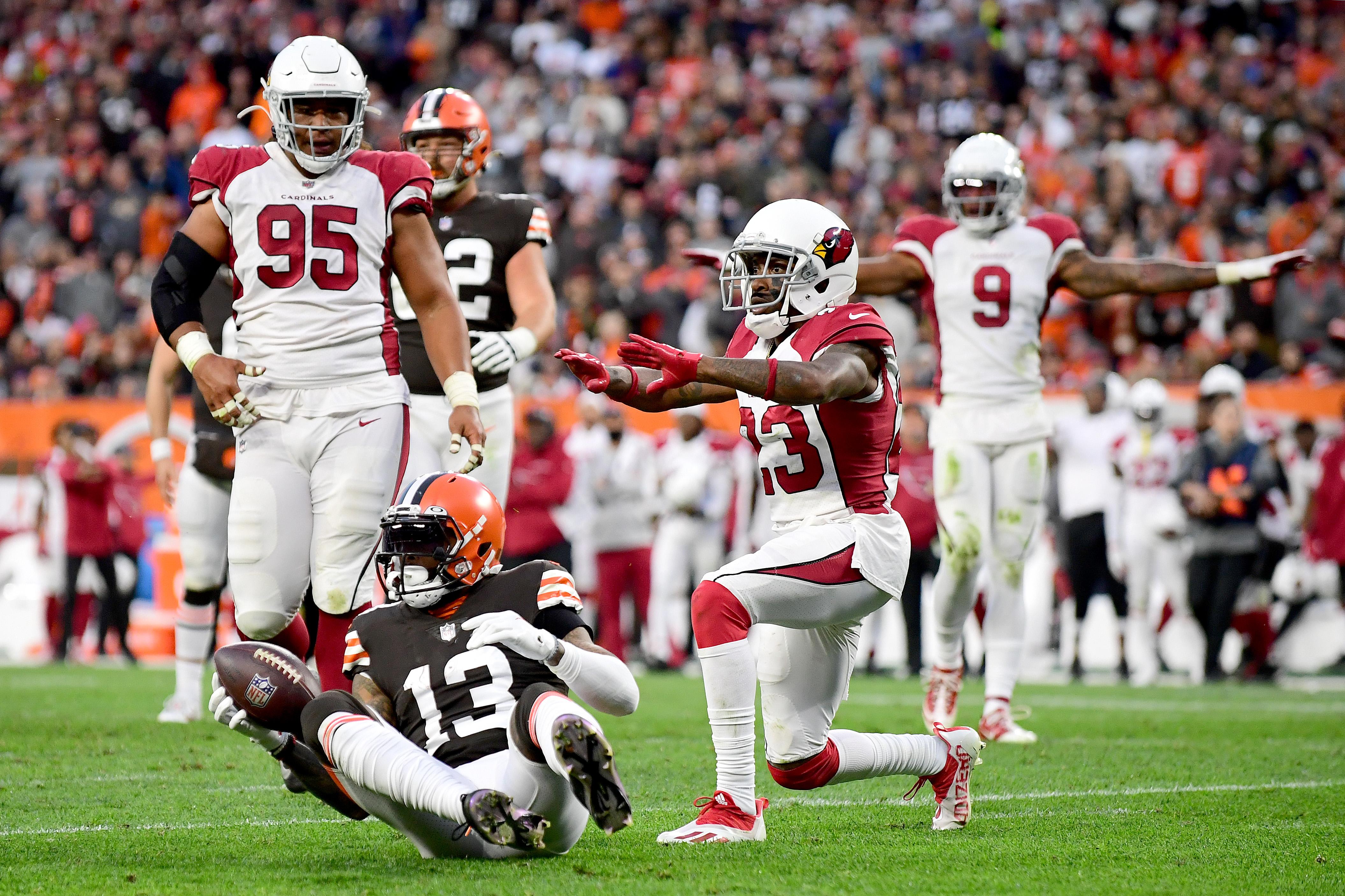 Arizona Cardinals v Cleveland Browns