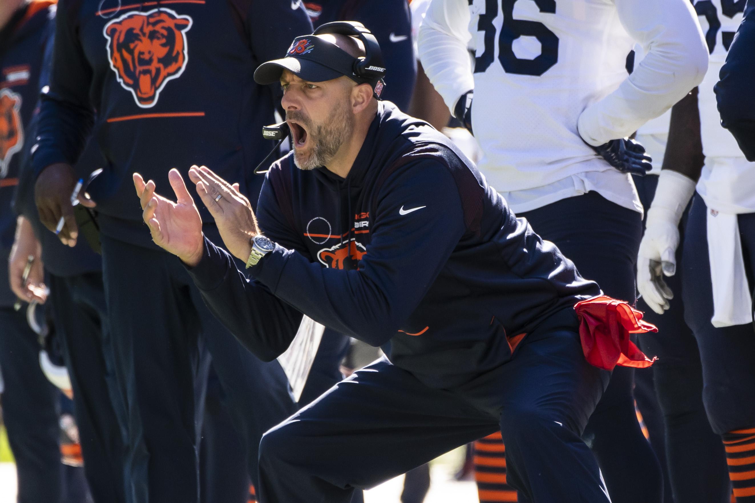 Matt Nagy is 31-23 as Bears head coach.
