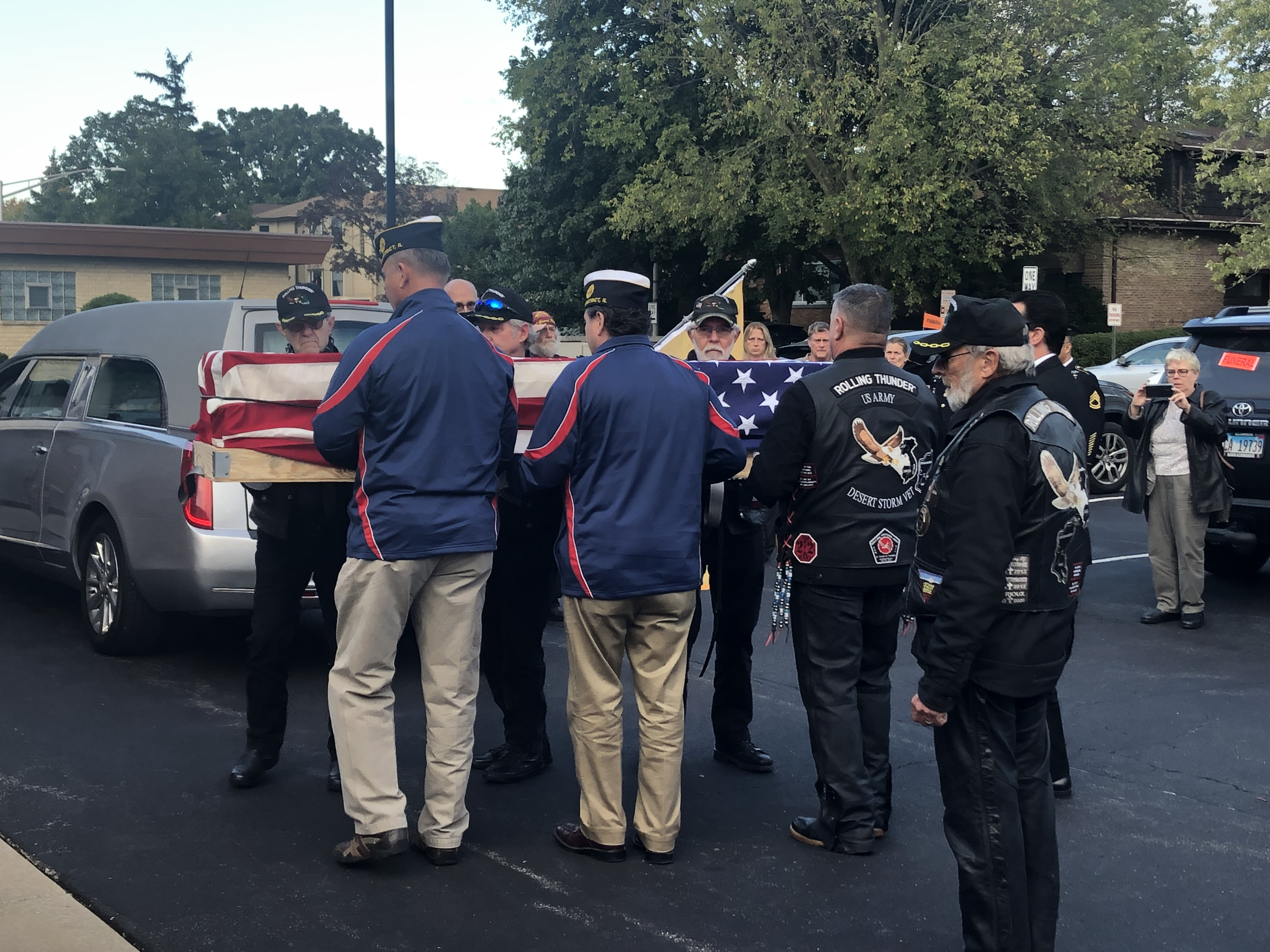 Seventy-six years after being killed in World War II, the remains of U.S. Army Air Forces Sgt. Francis Wiemerslage returned home Friday. Wiemerslage, a native of suburban River Grove, was a 20-year-old ball turret gunner on a B-17G Flying Fortress bombing during a mission over Dresden on March 2, 1945, when the plane was shot down by enemy fighters. Wiemerslage remained unaccounted for until August, when his remains were confirmed.
