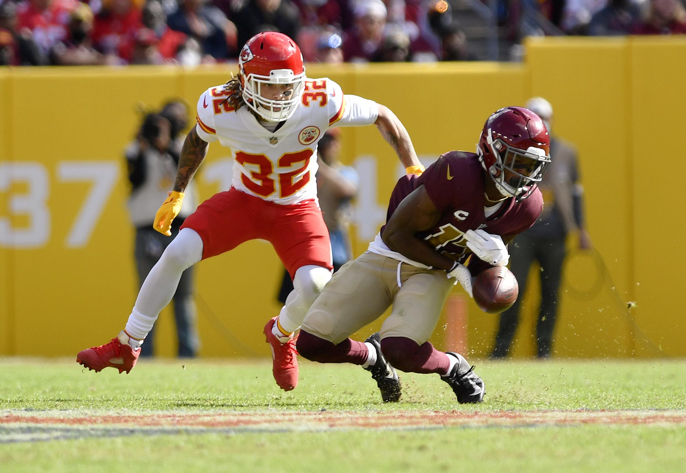 NFL: OCT 17 Chiefs at Washington Football Team