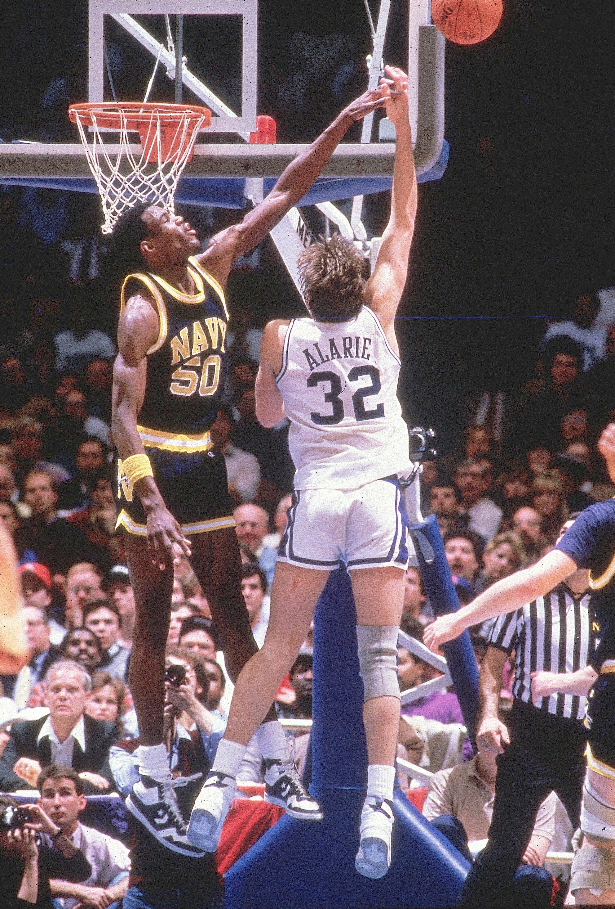 Naval Academy David Robinson, 1986 NCAA East Regional Finals
