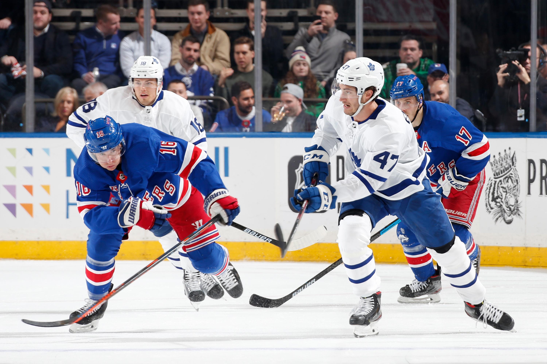 "Toronto Maple Leafs v New York Rangers""n"