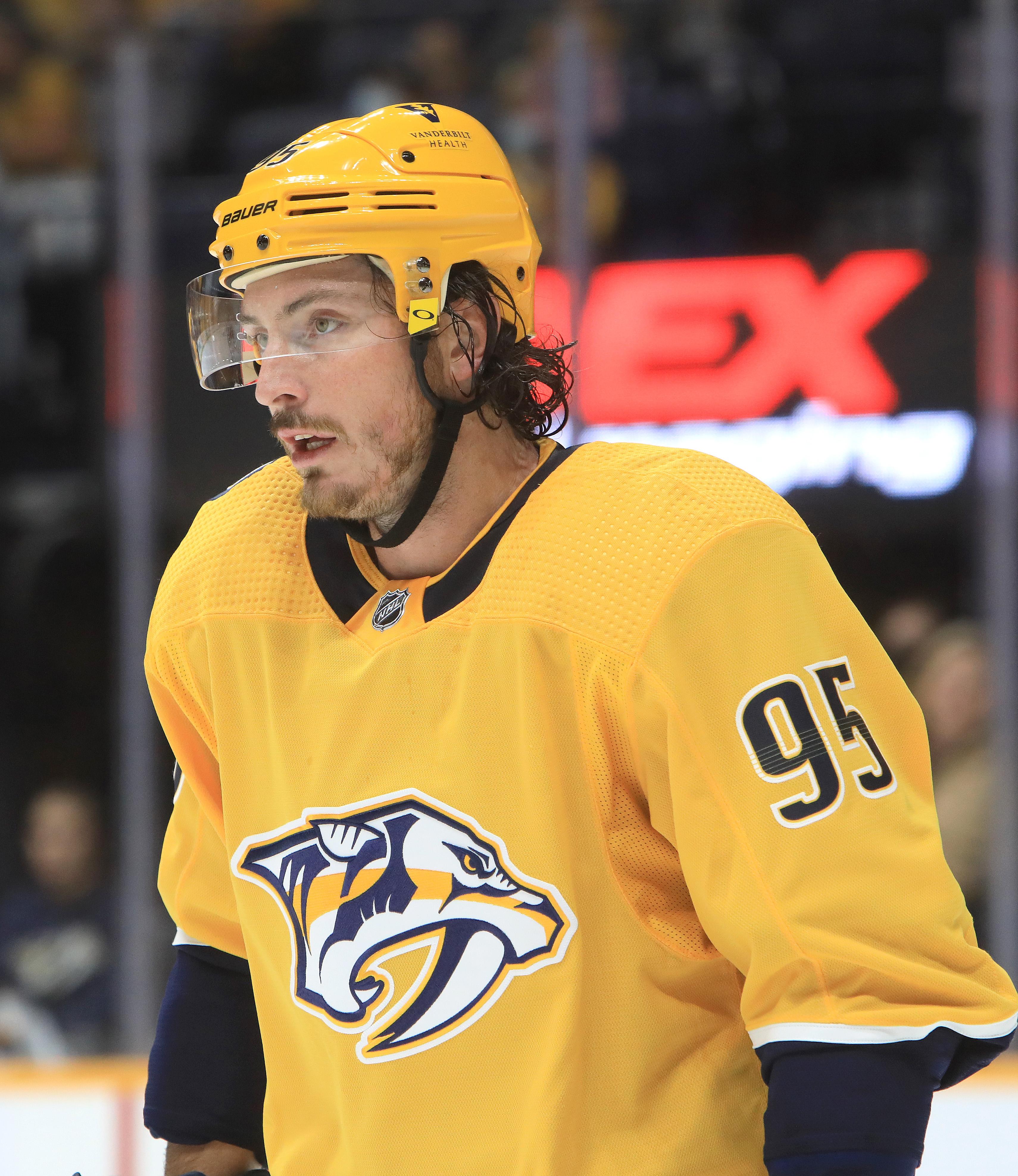 NHL: OCT 16 Hurricanes at Predators