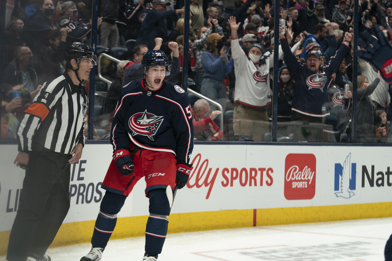 NHL: OCT 16 Kraken at Blue Jackets