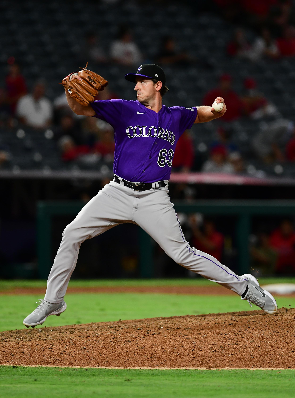 MLB: JUL 27 Rockies at Angels