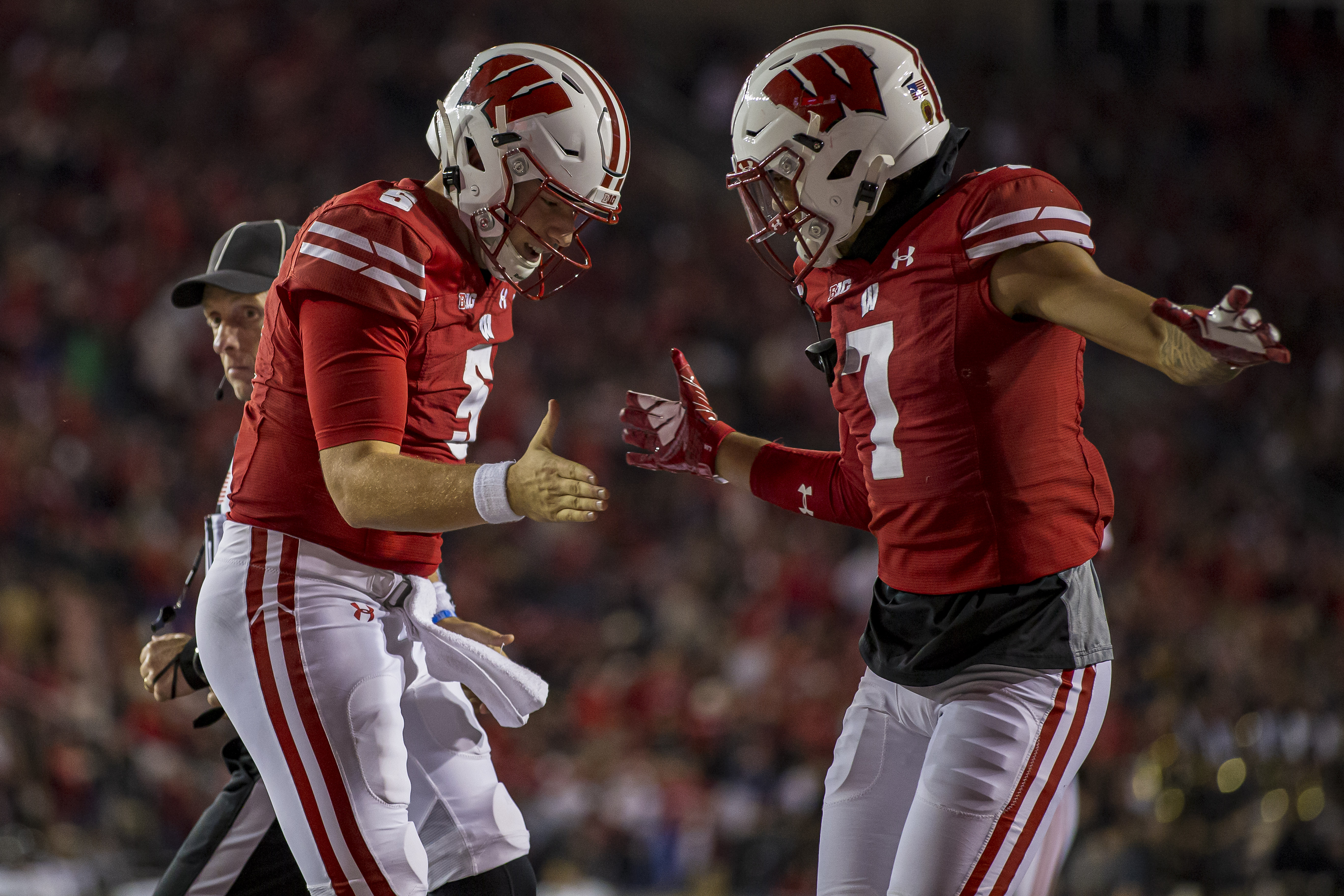 COLLEGE FOOTBALL: OCT 16 Army at Wisconsin