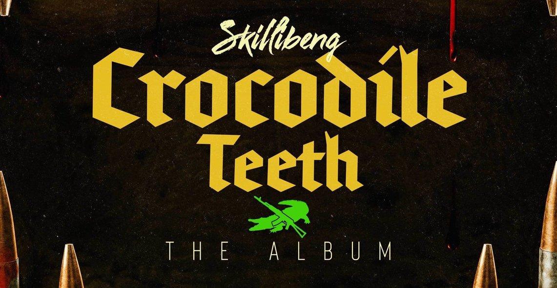 Skillibeng's 'Crocodile Teeth LP' artwork