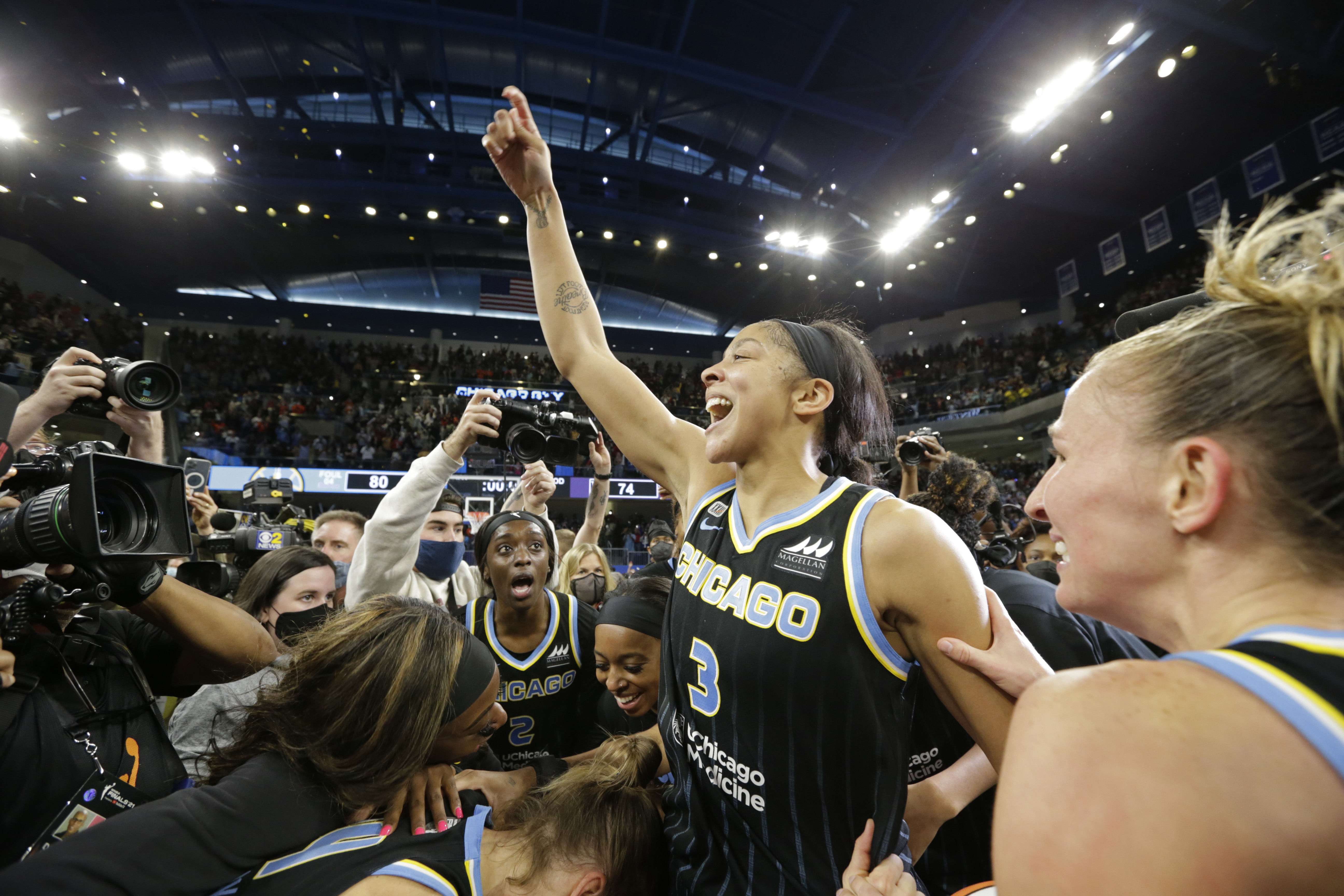 2021 WNBA Finals - Phoenix Mercury v Chicago Sky