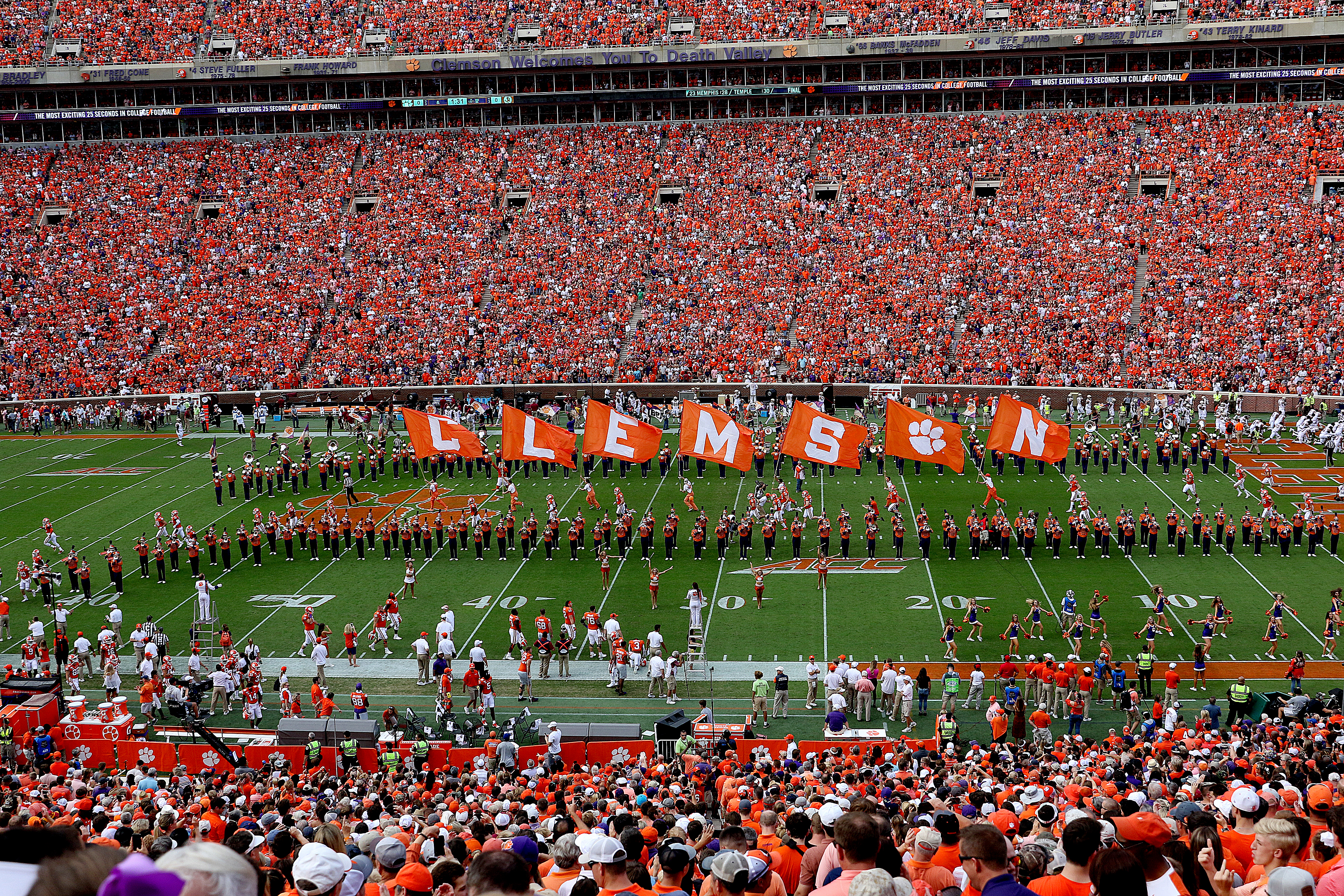 COLLEGE FOOTBALL: OCT 12 Florida State at Clemson