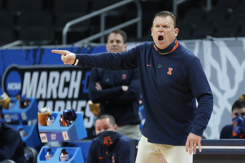 Coach Brad Underwood's Illinois team is ranked No. 11 in the Associated Press preseason men's basketball poll.