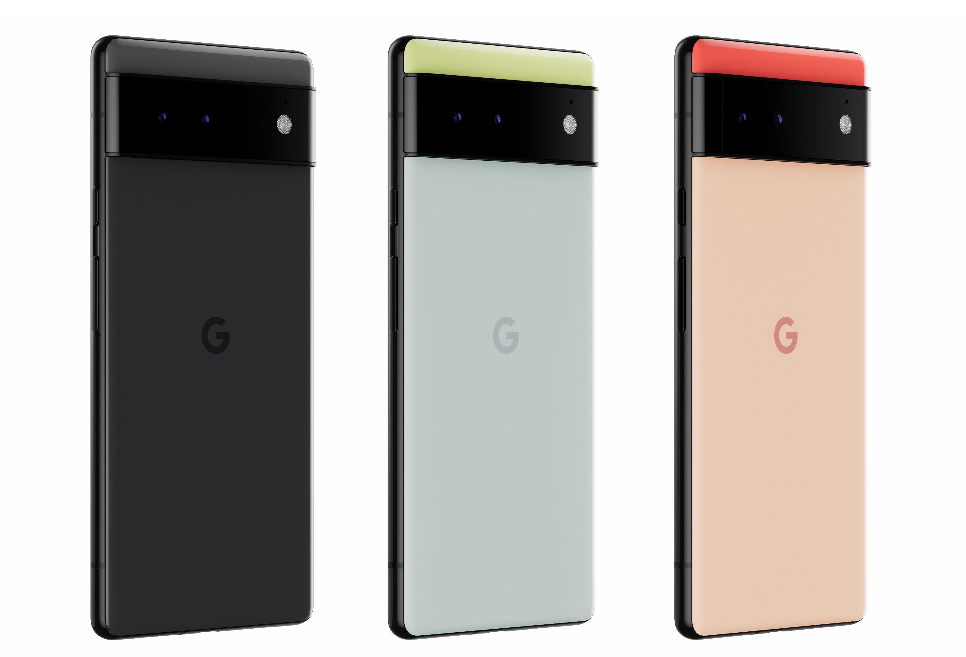 Pixel 6 color choices