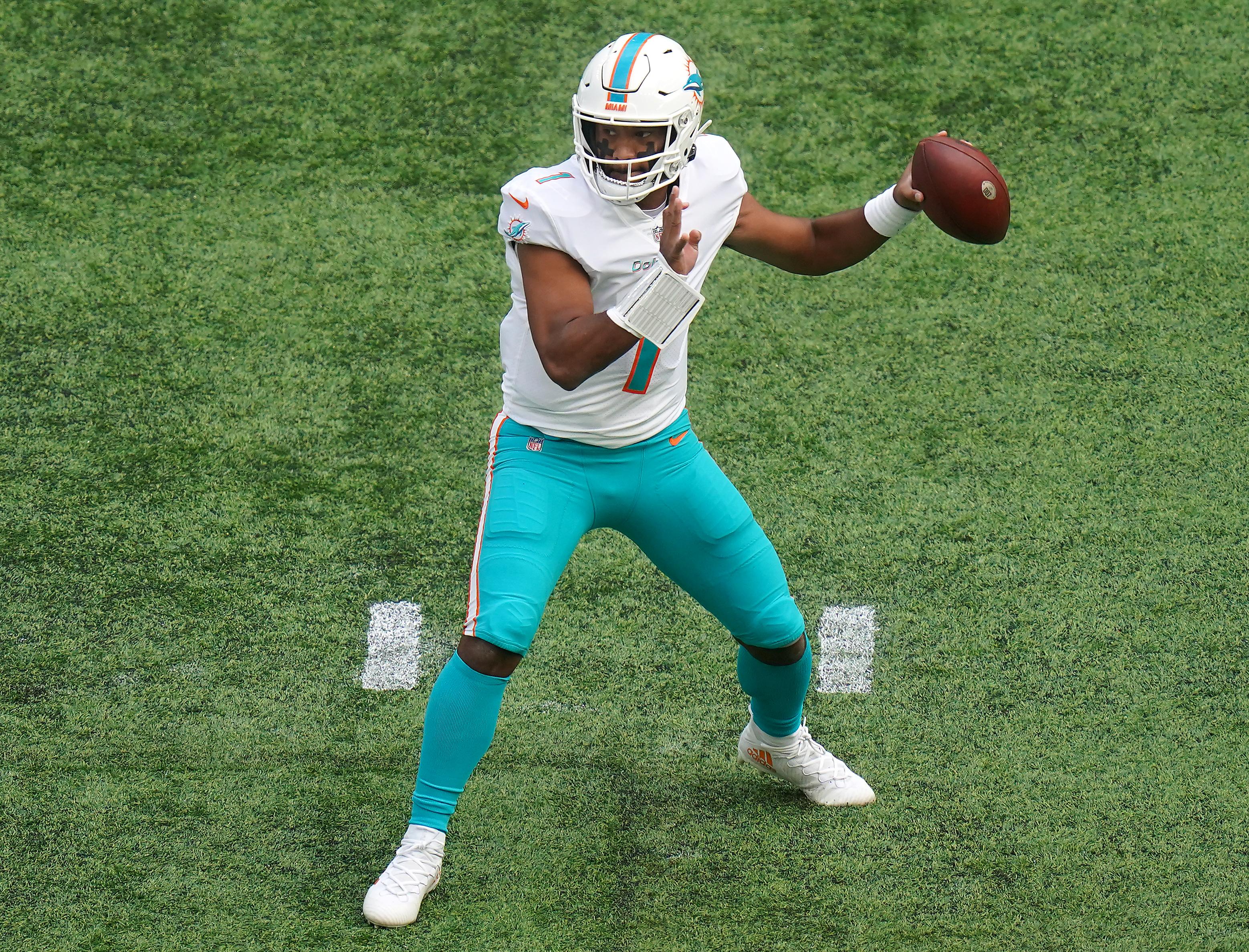 Jacksonville Jaguars v Miami Dolphins - NFL London Games 2021 - Tottenham Hotspur Stadium