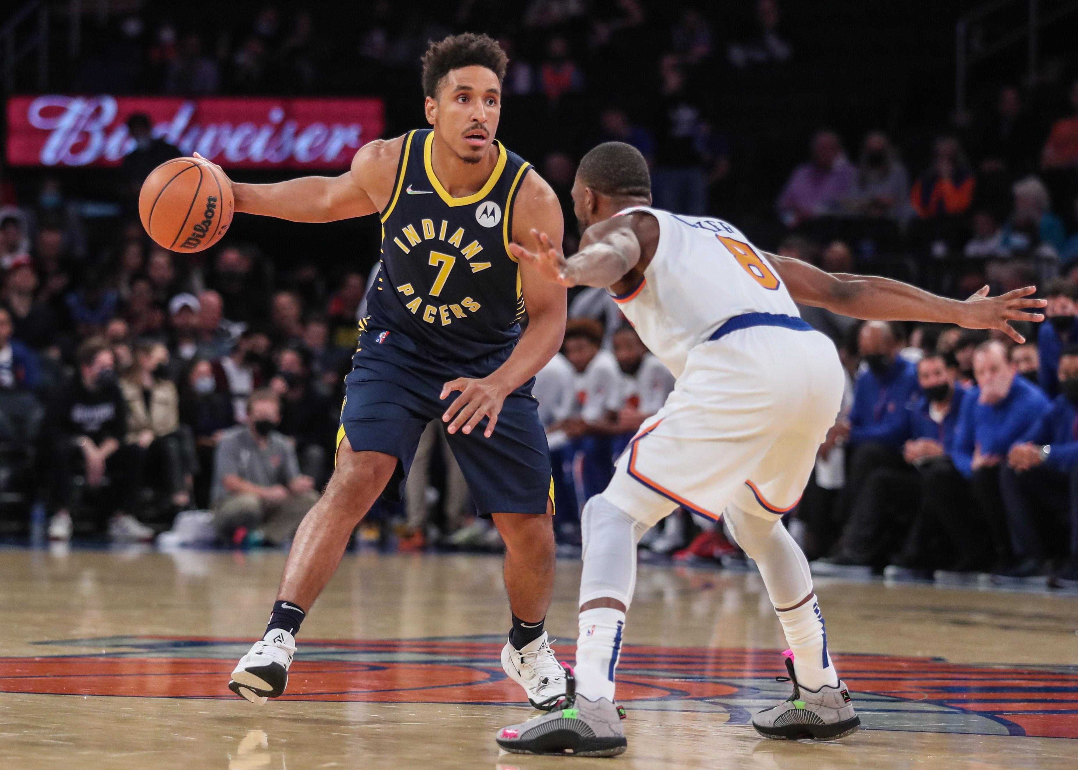 NBA: Preseason-Indiana Pacers at New York Knicks