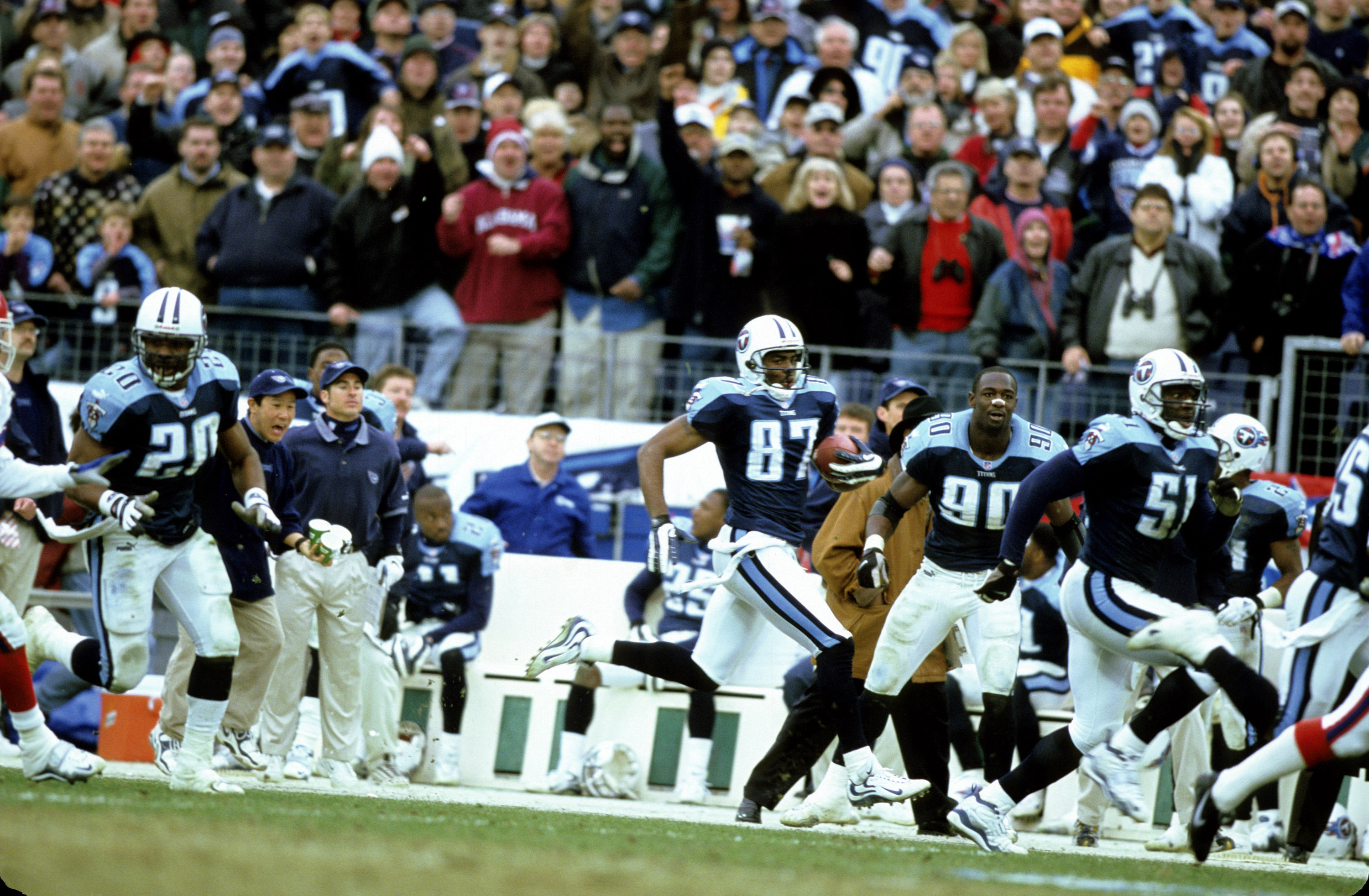 1999 AFC Wild Card Playoff Game - Buffalo Bills vs Tennessee Titans - January 8, 2000