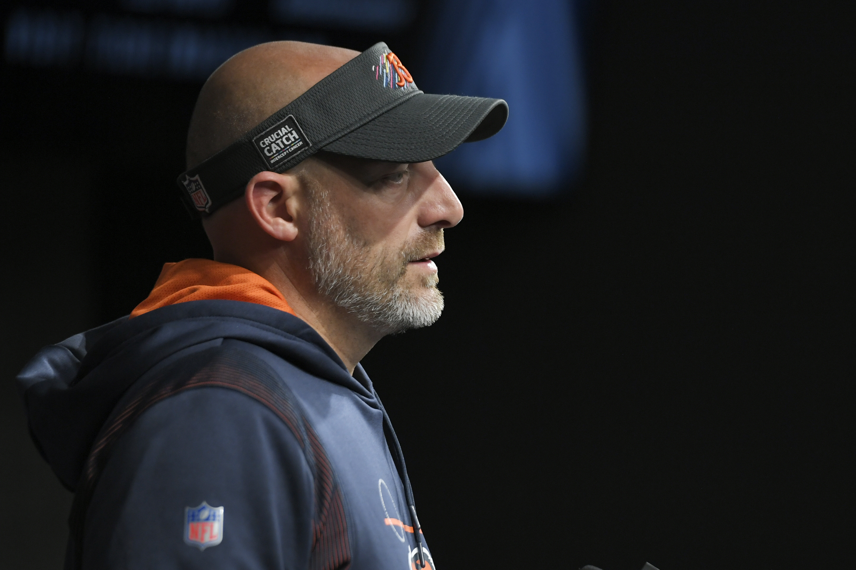 Matt Nagy went 8-8 in 2019 and '20 and is 3-3 to start '21.