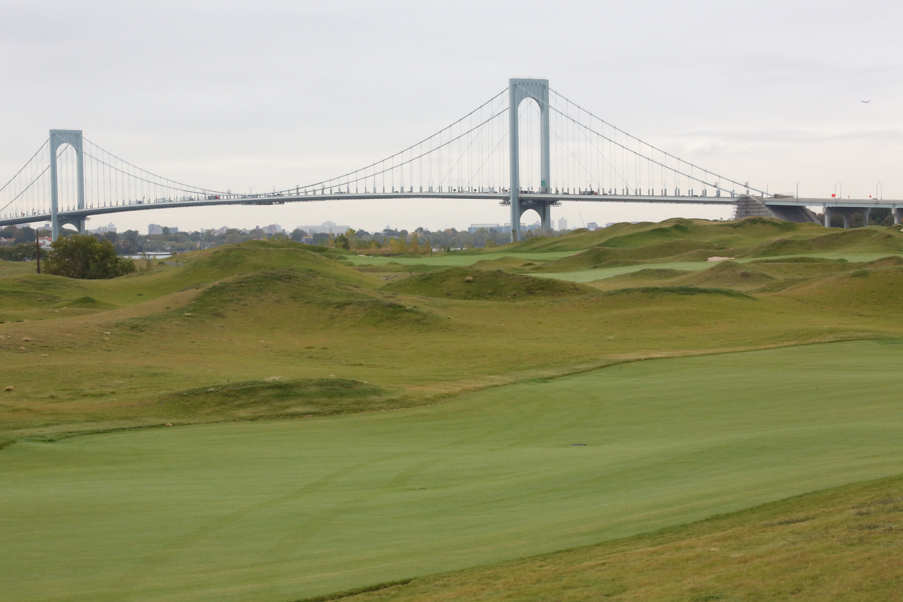 The Trump Golf Links at Ferry Point opened in 2013.