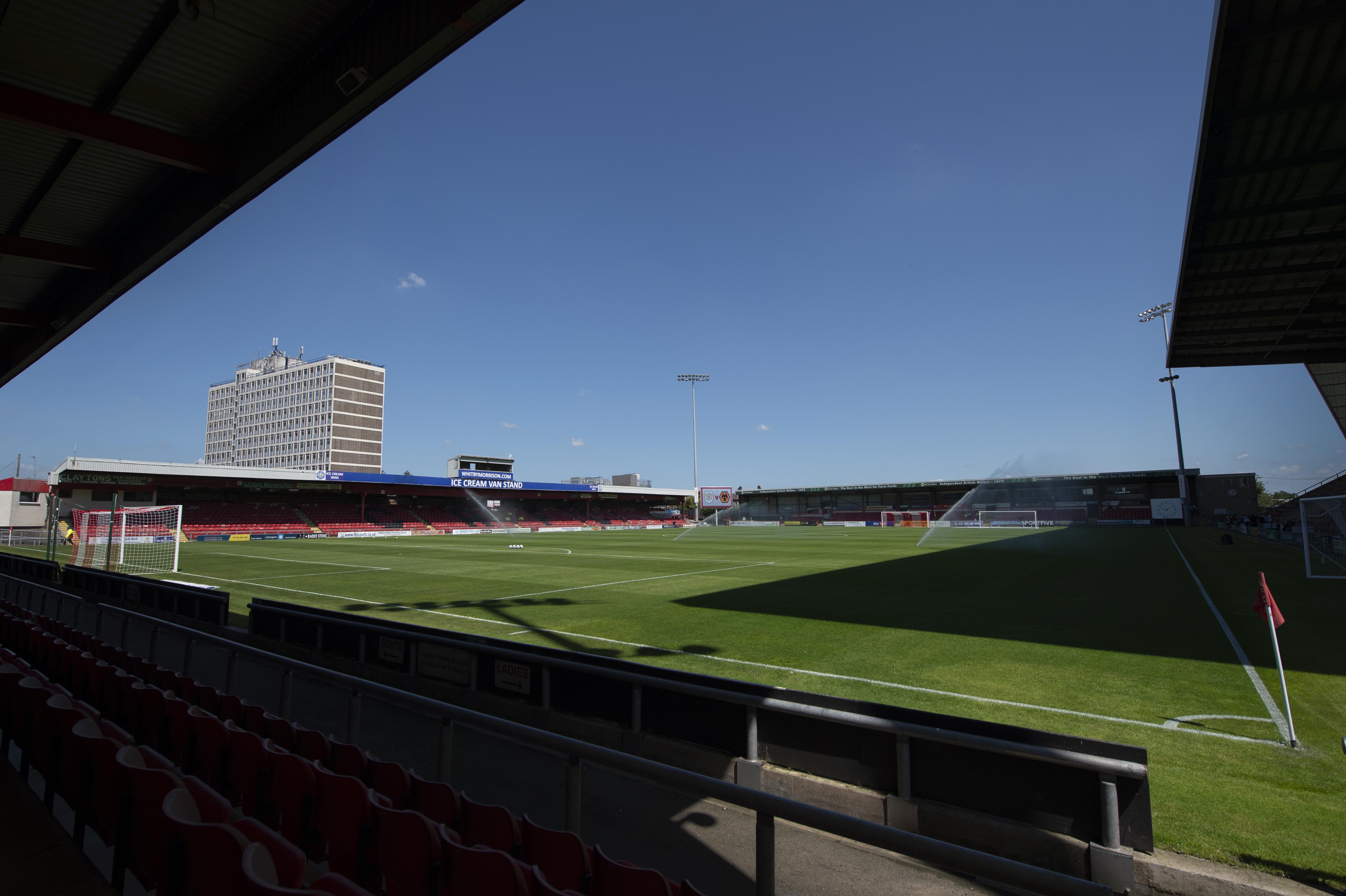 Crewe Alexandra v Wolverhampton Wanderers: Pre-Season Friendly