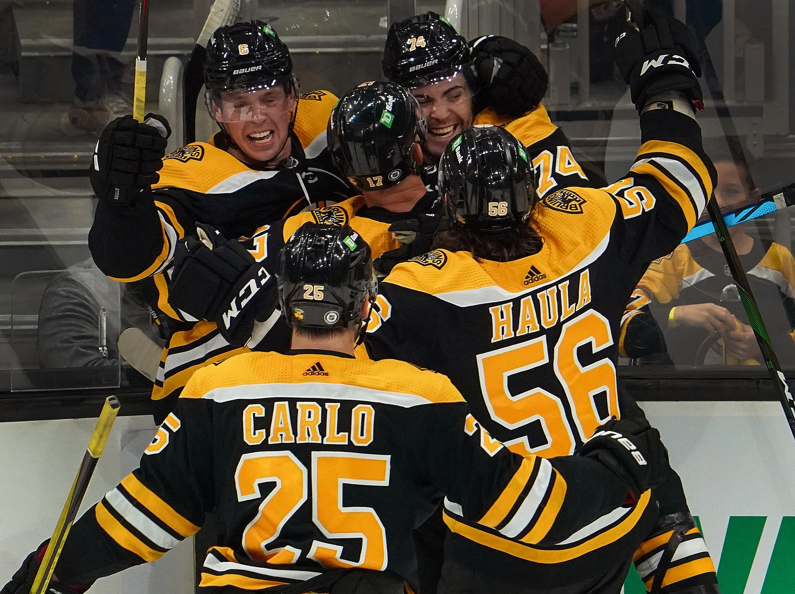 Dallas Stars Vs Boston Bruins At TD Garden