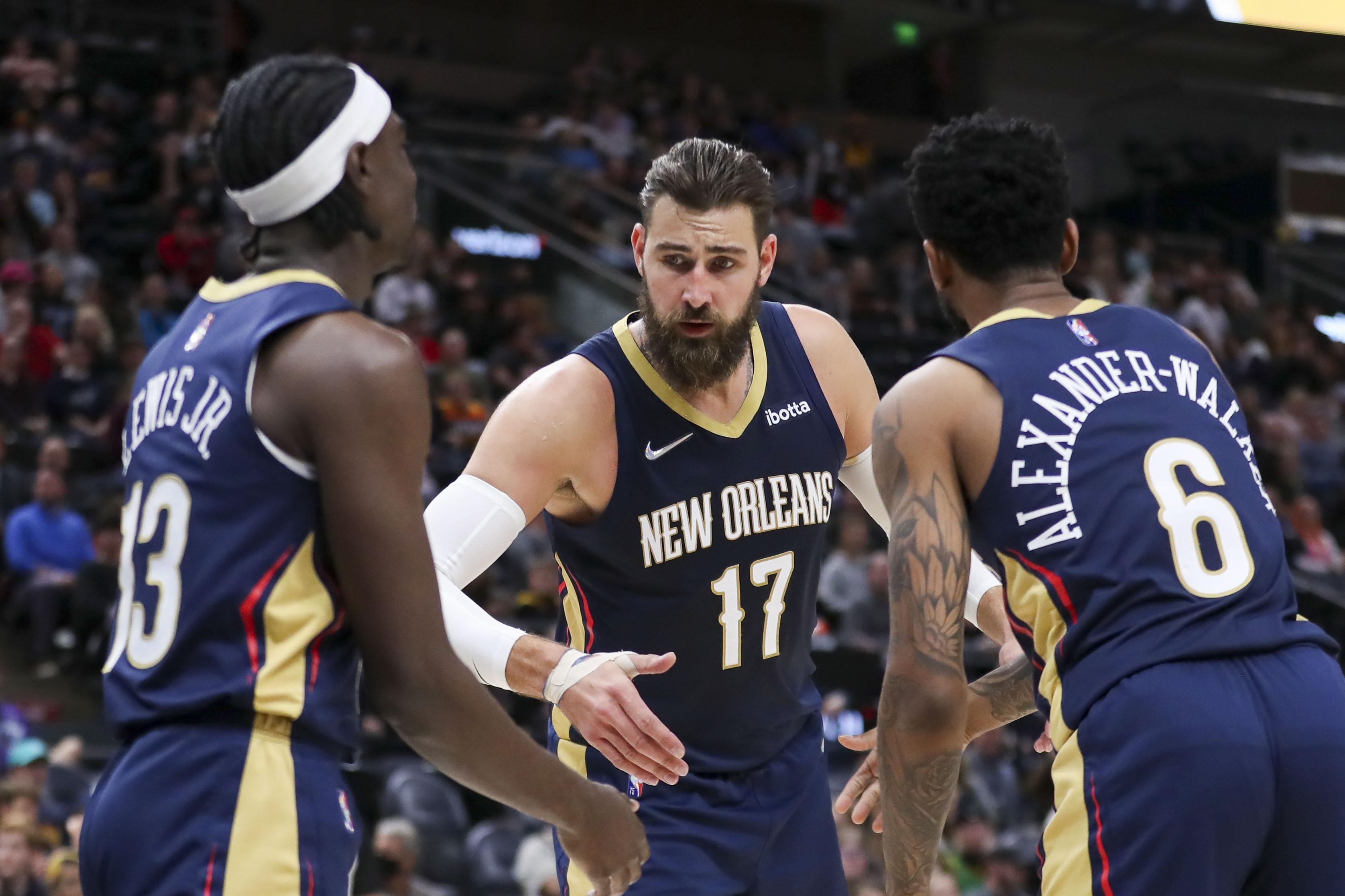 NBA: Preseason-New Orleans Pelicans at Utah Jazz