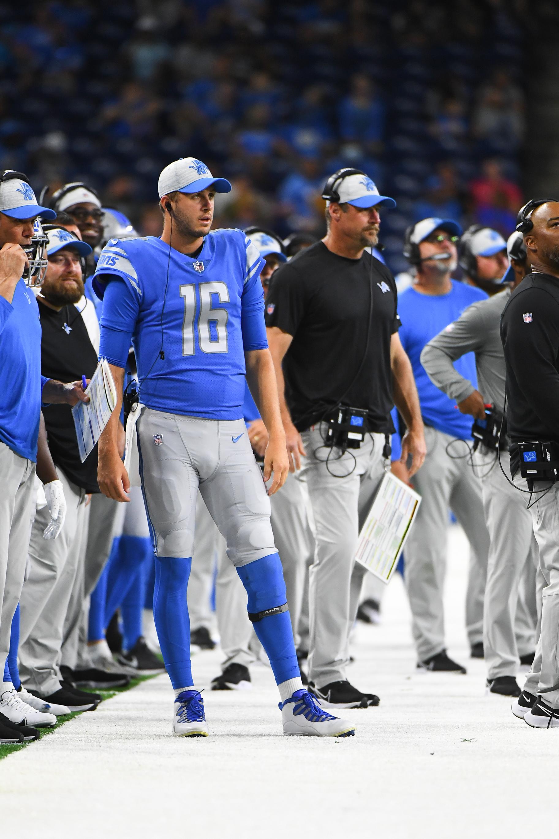 NFL: AUG 27 Preseason - Colts at Lions