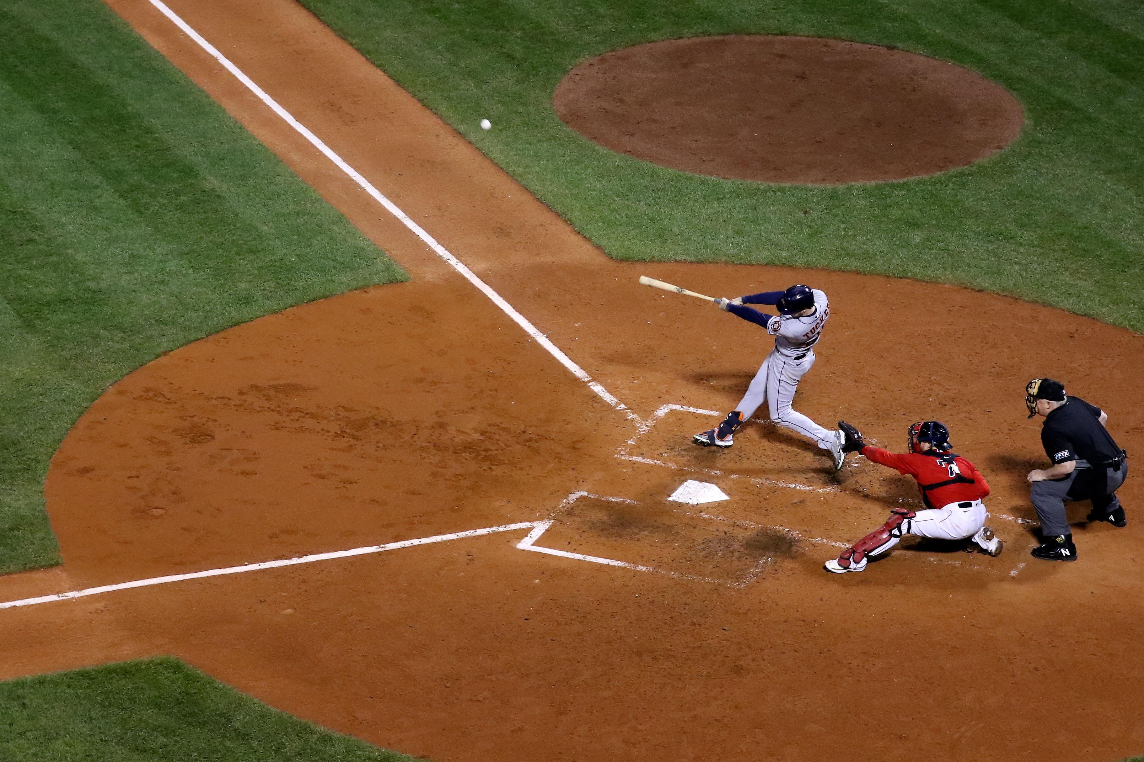 MLB: ALCS-Houston Astros at Boston Red Sox