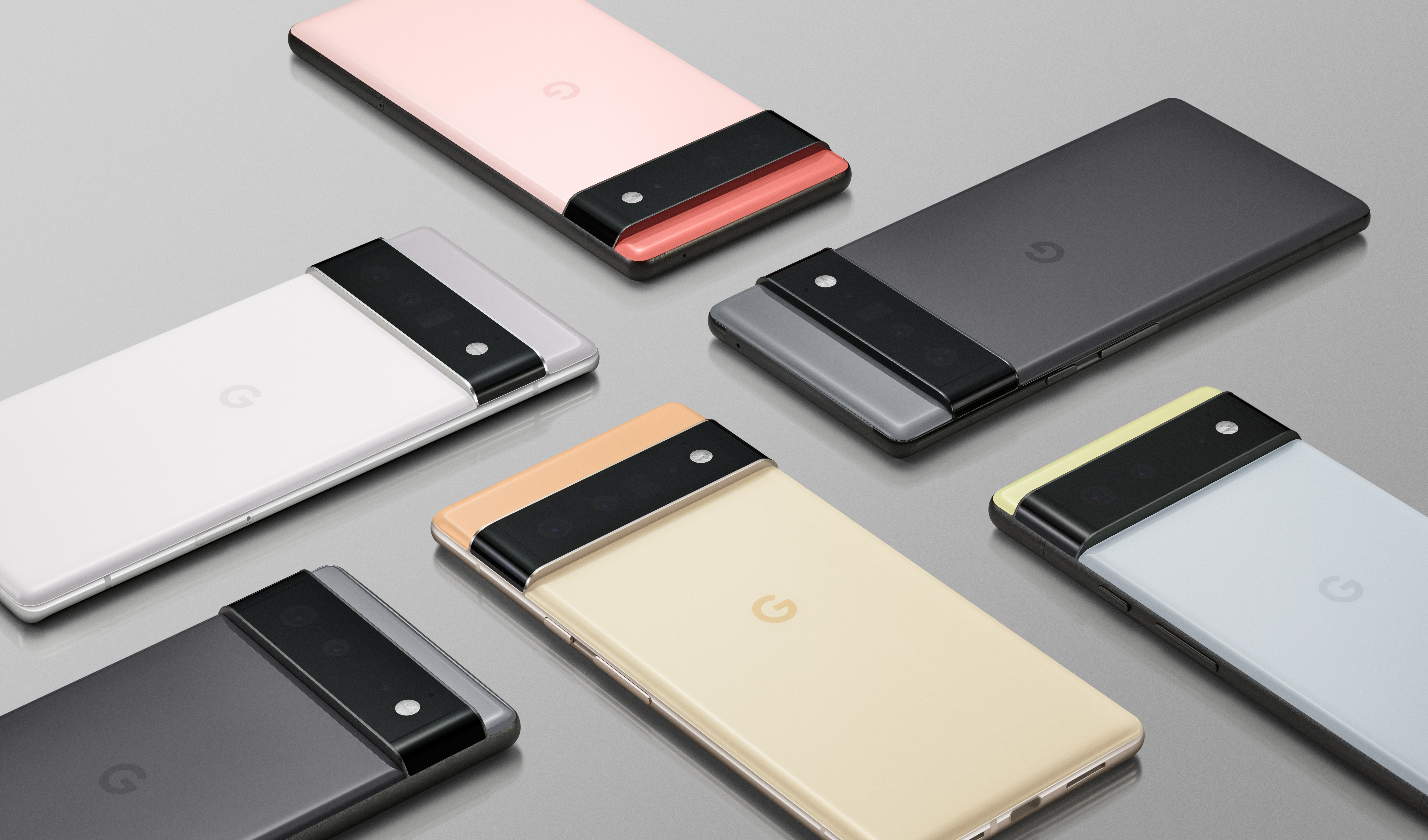 The Google Pixel 6 and 6 Pro lineup