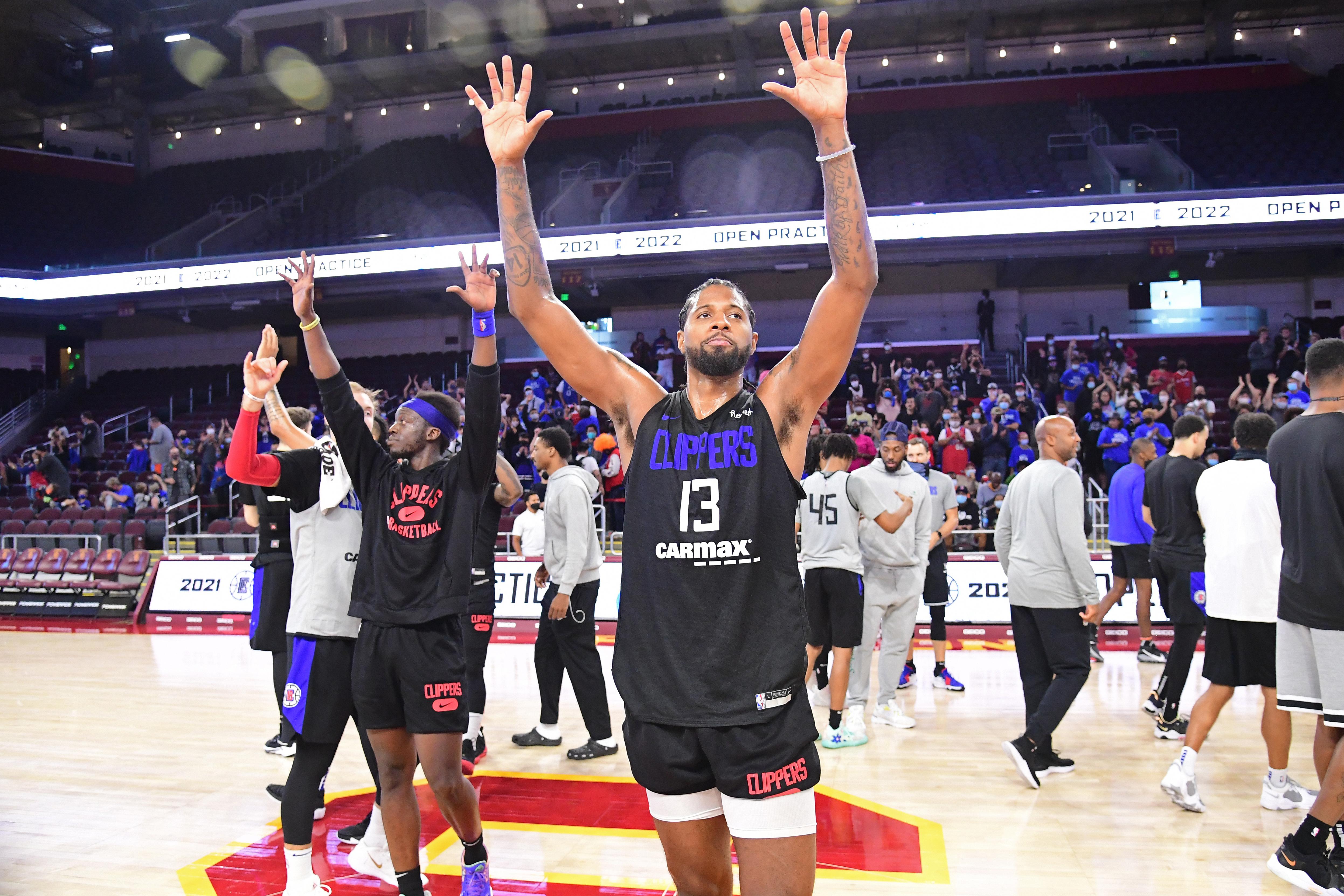 LA Clippers Open Practice