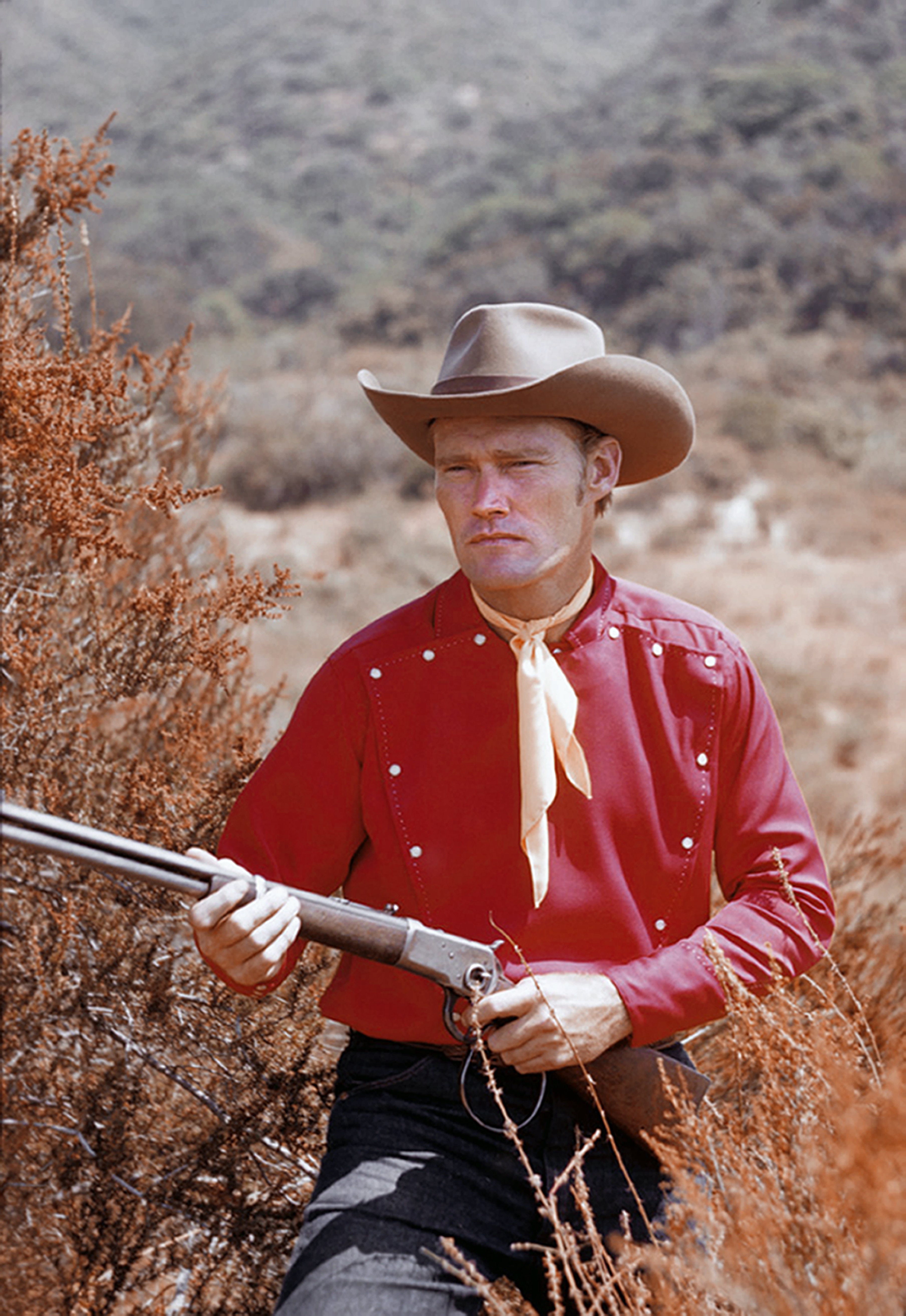 """Chuck Connors from """"The Rifleman"""""""