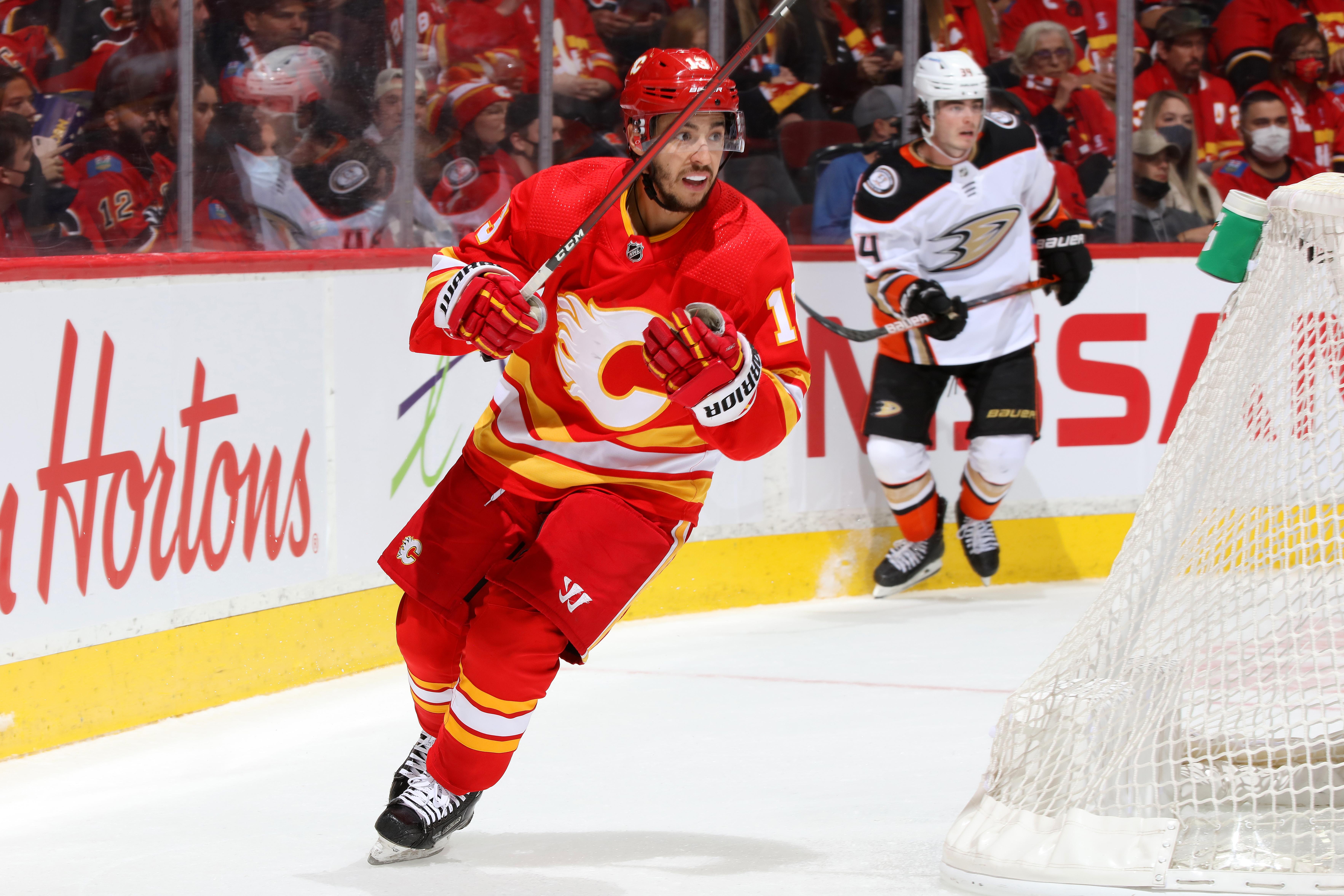 Anaheim Ducks v Calgary Flames