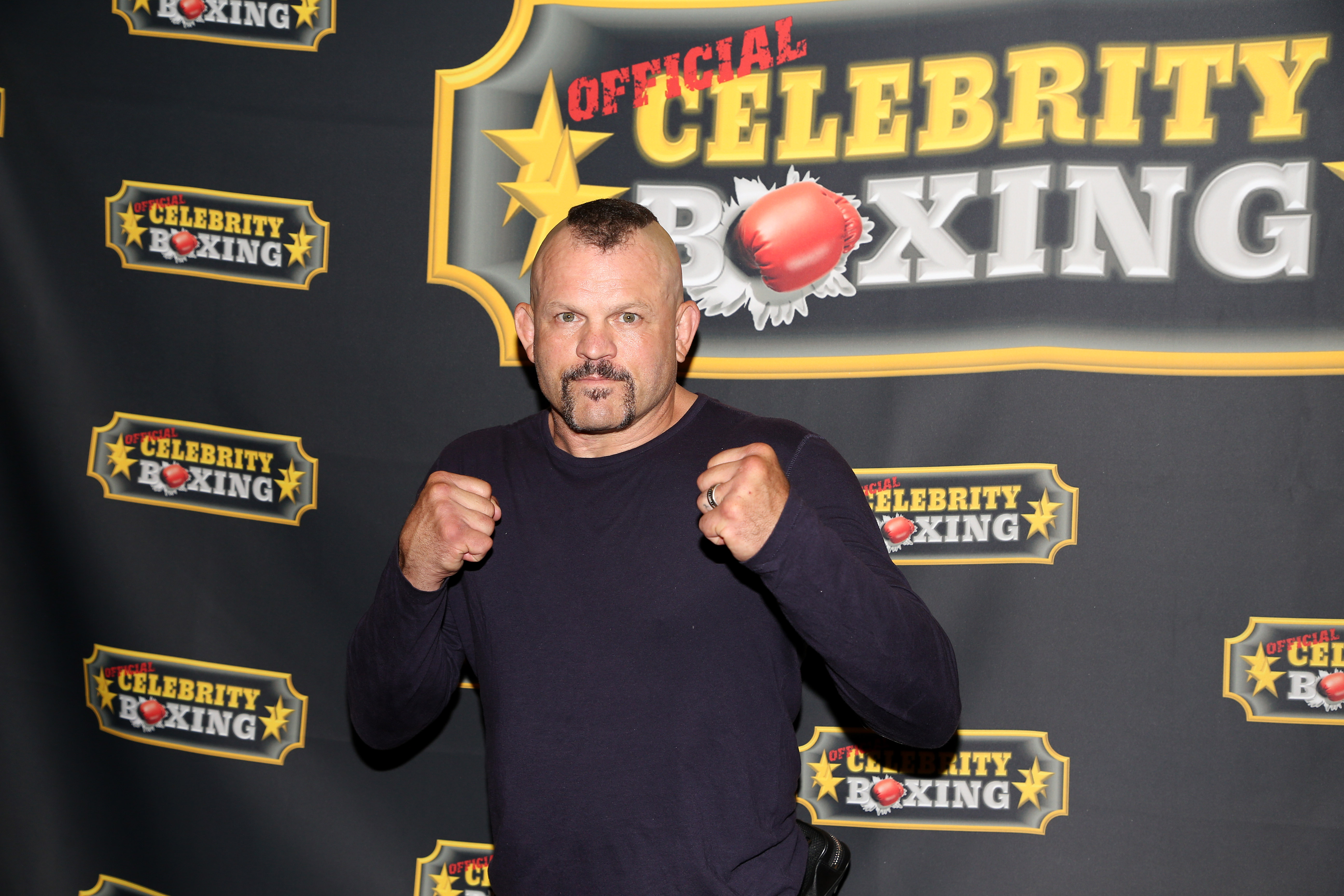 Chuck Liddell at the Lamar Odom vs. Aaron Carter celebrity boxing event.
