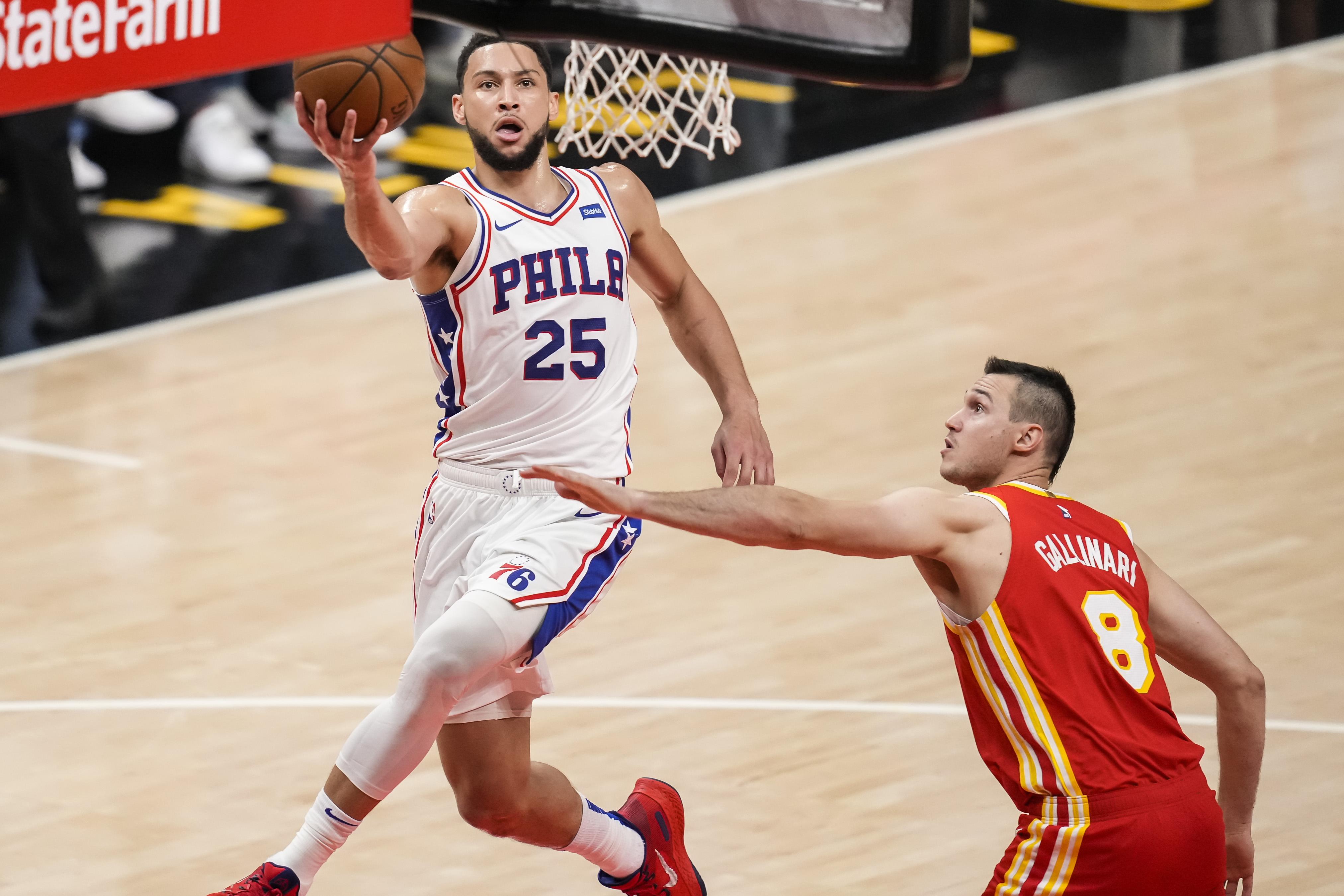 NBA: Playoffs-Philadelphia 76ers at Atlanta Hawks