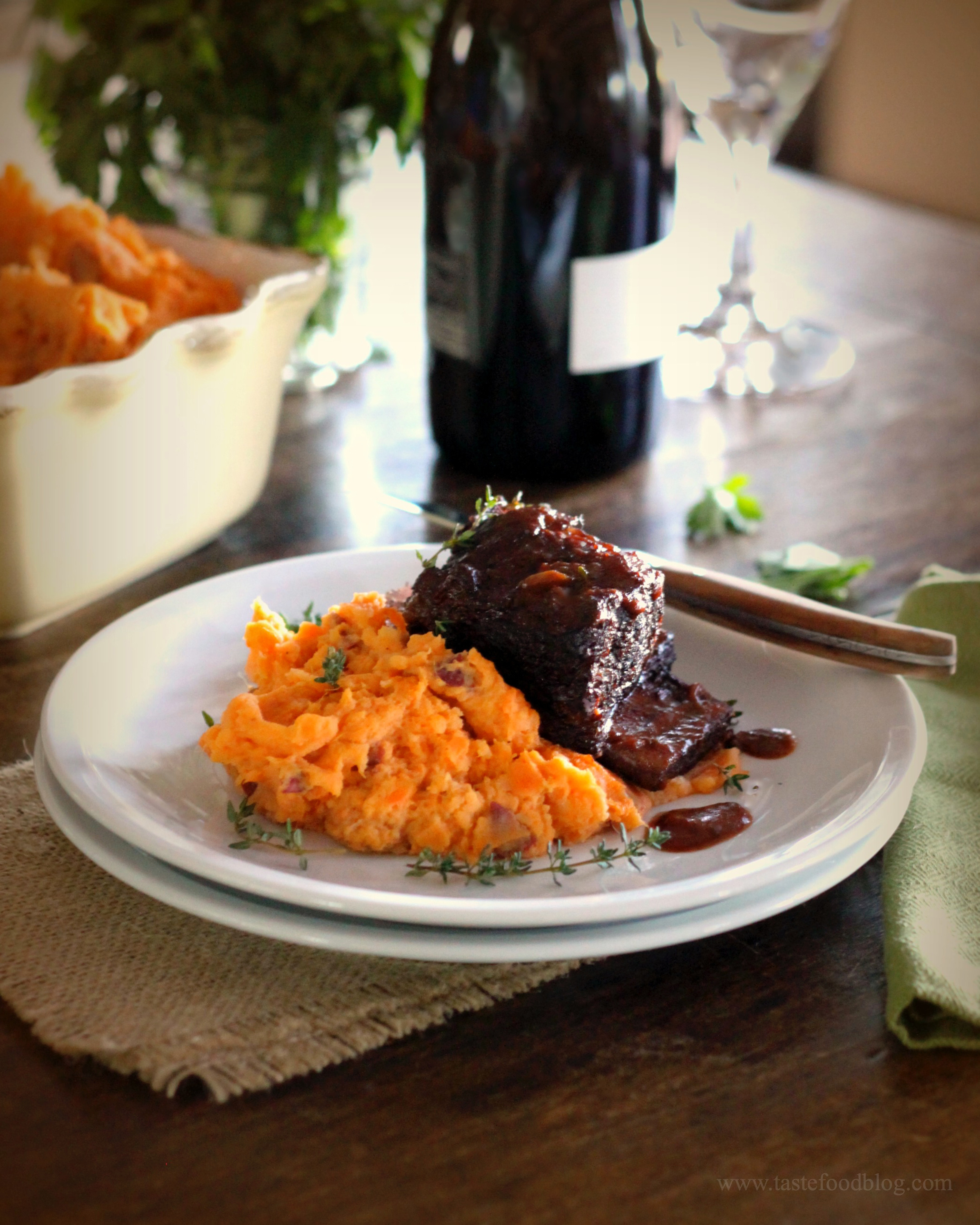 Braised and Glazed Short Ribs