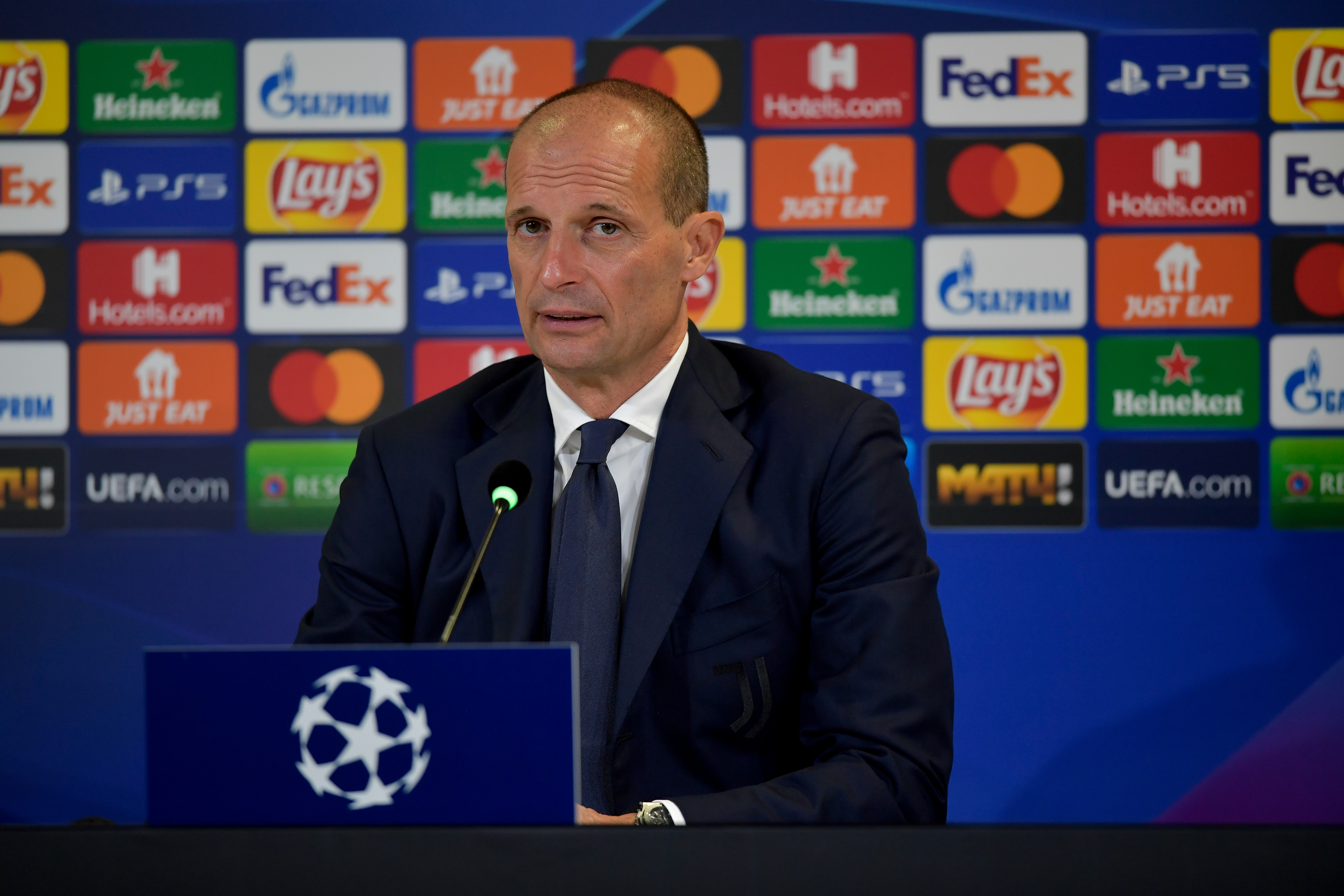 Juventus Training Session & Press Conference