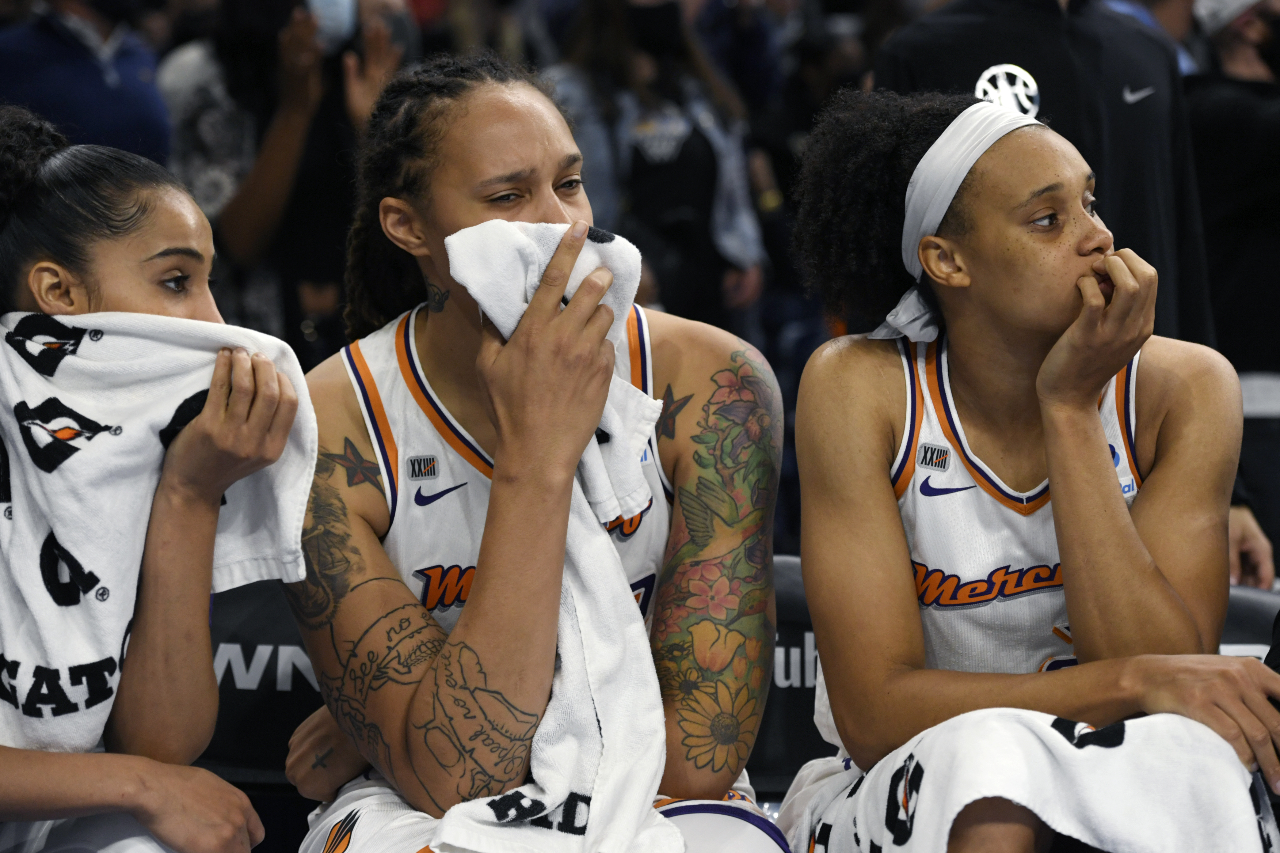The WNBA fined the Phoenix Mercury $10,000 for violating the league's media access rules after the team lost the Finals to the Sky.