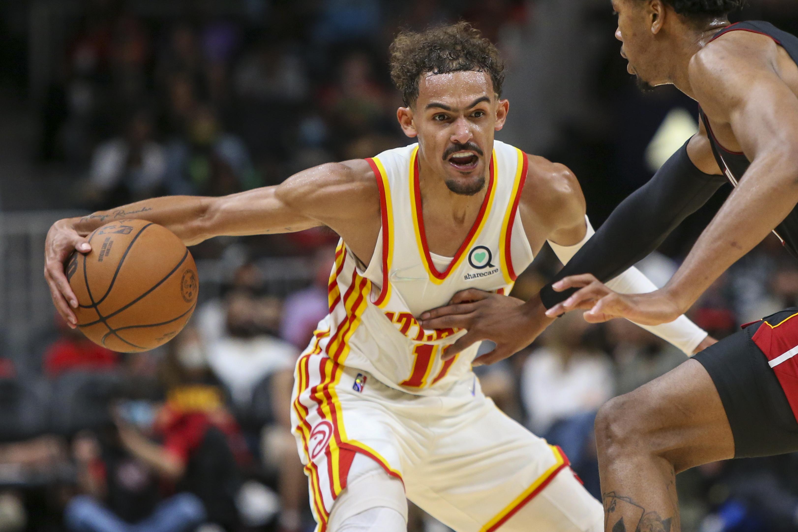 NBA: Preseason-Miami Heat at Atlanta Hawks