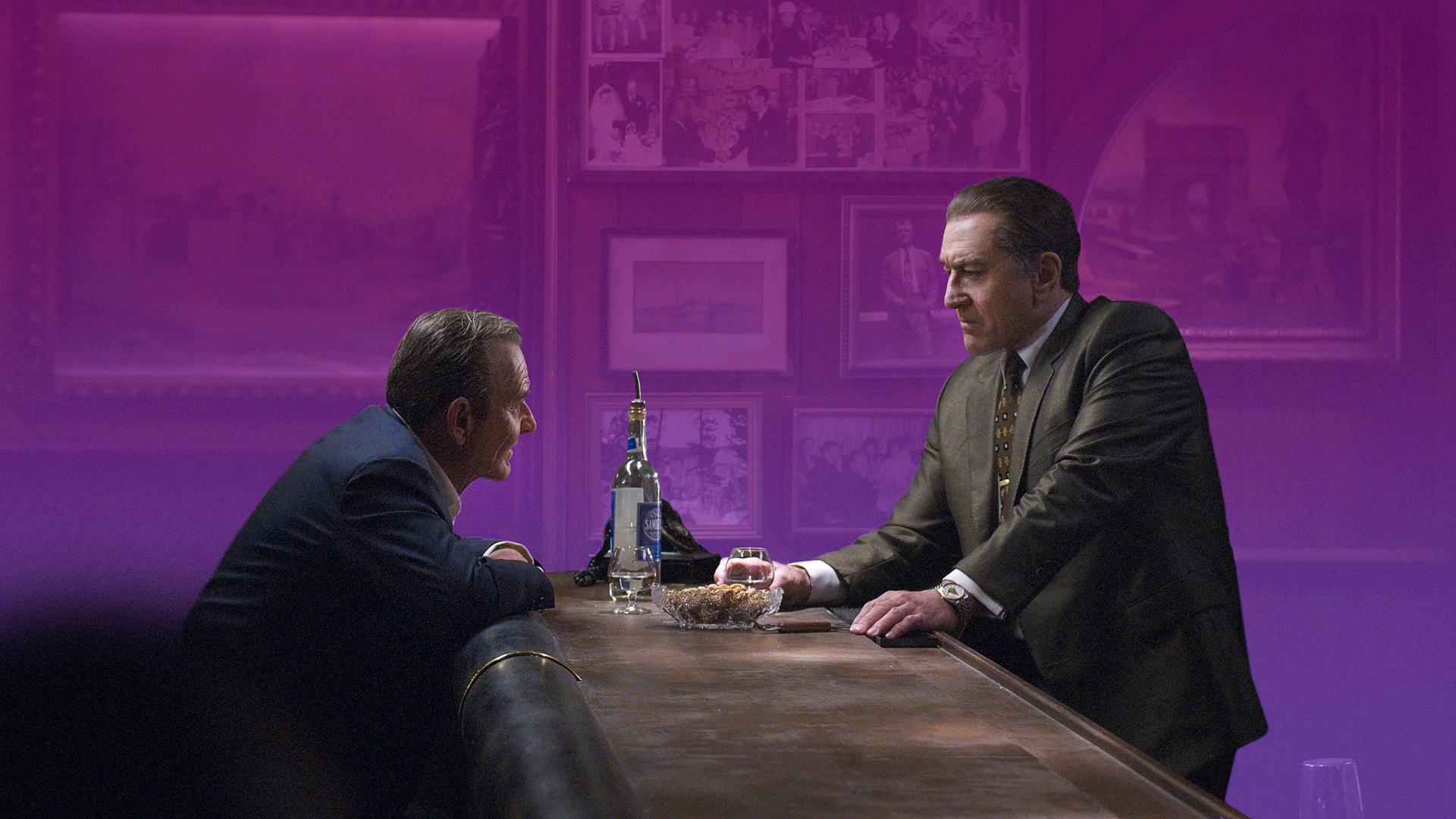 """Joe Pesci and Robert DeNiro in the film """"The Irishman"""""""